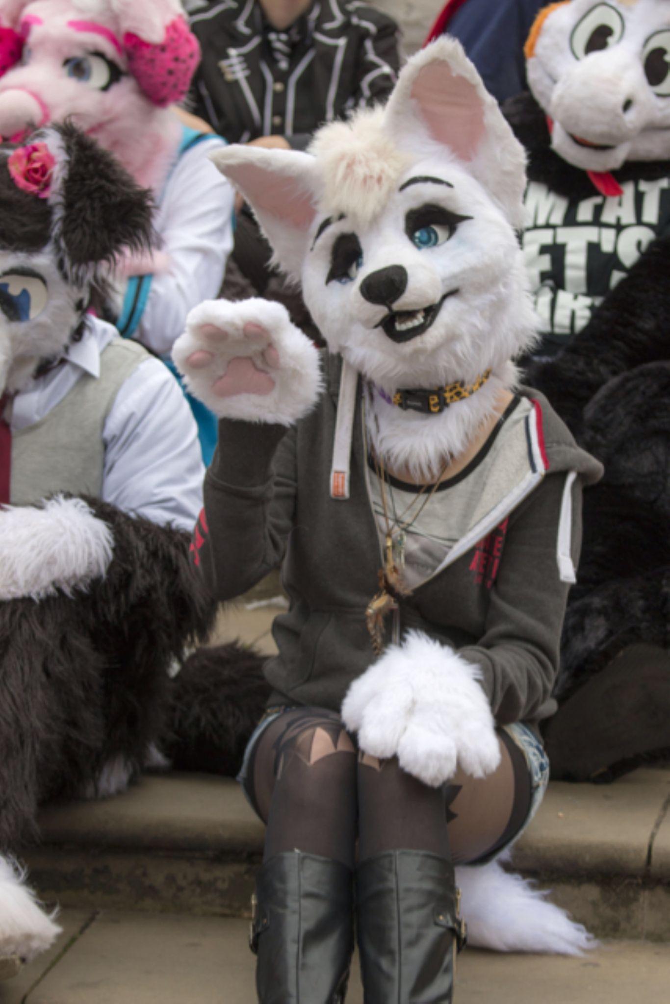 Furry fashion  by Ian Spike Harris