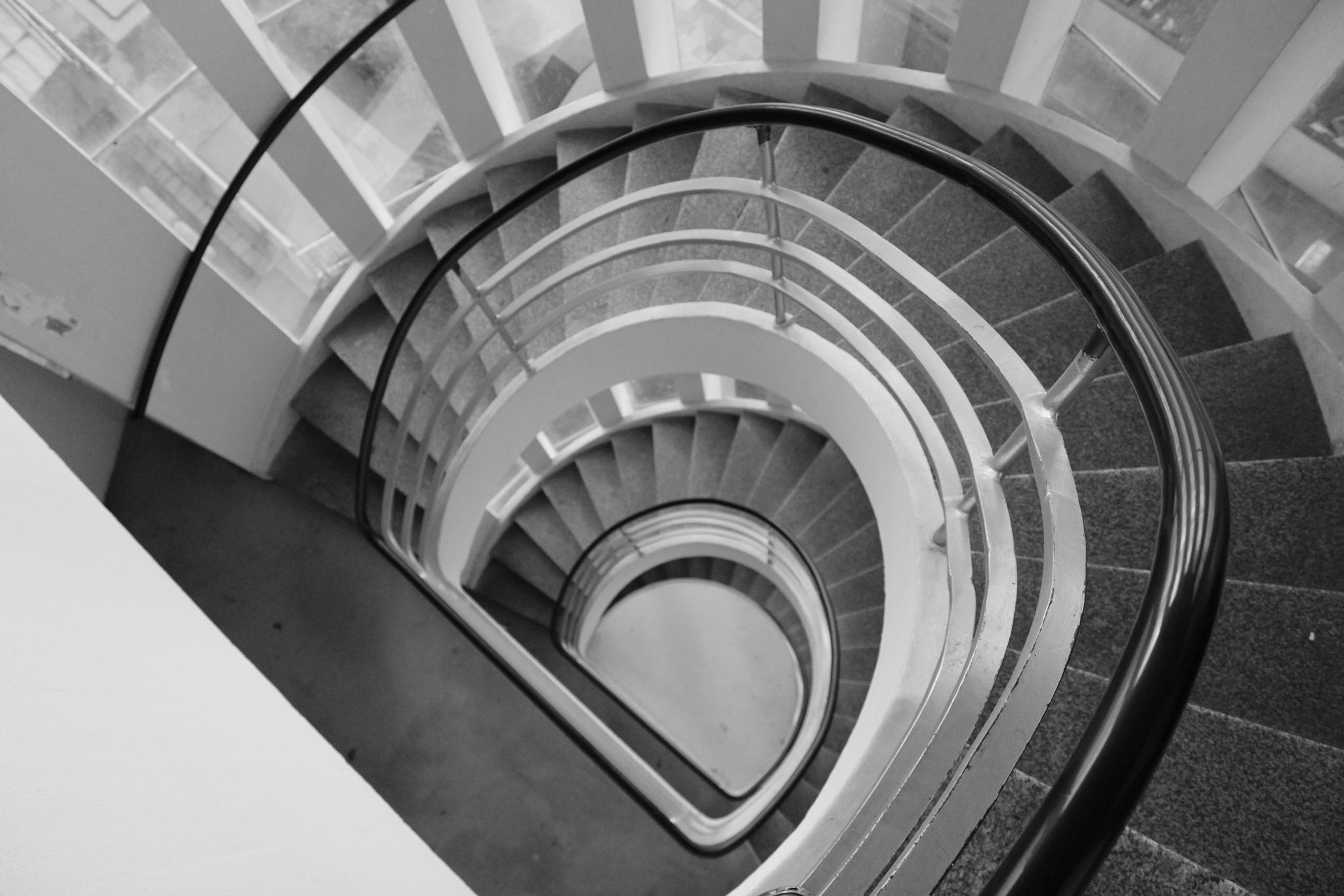Stairwell by Sietze Buurma