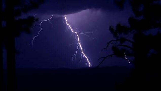 Monsoons in Arizona by Chade Woodard