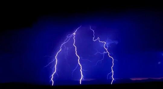 Arizona storm by Chade Woodard