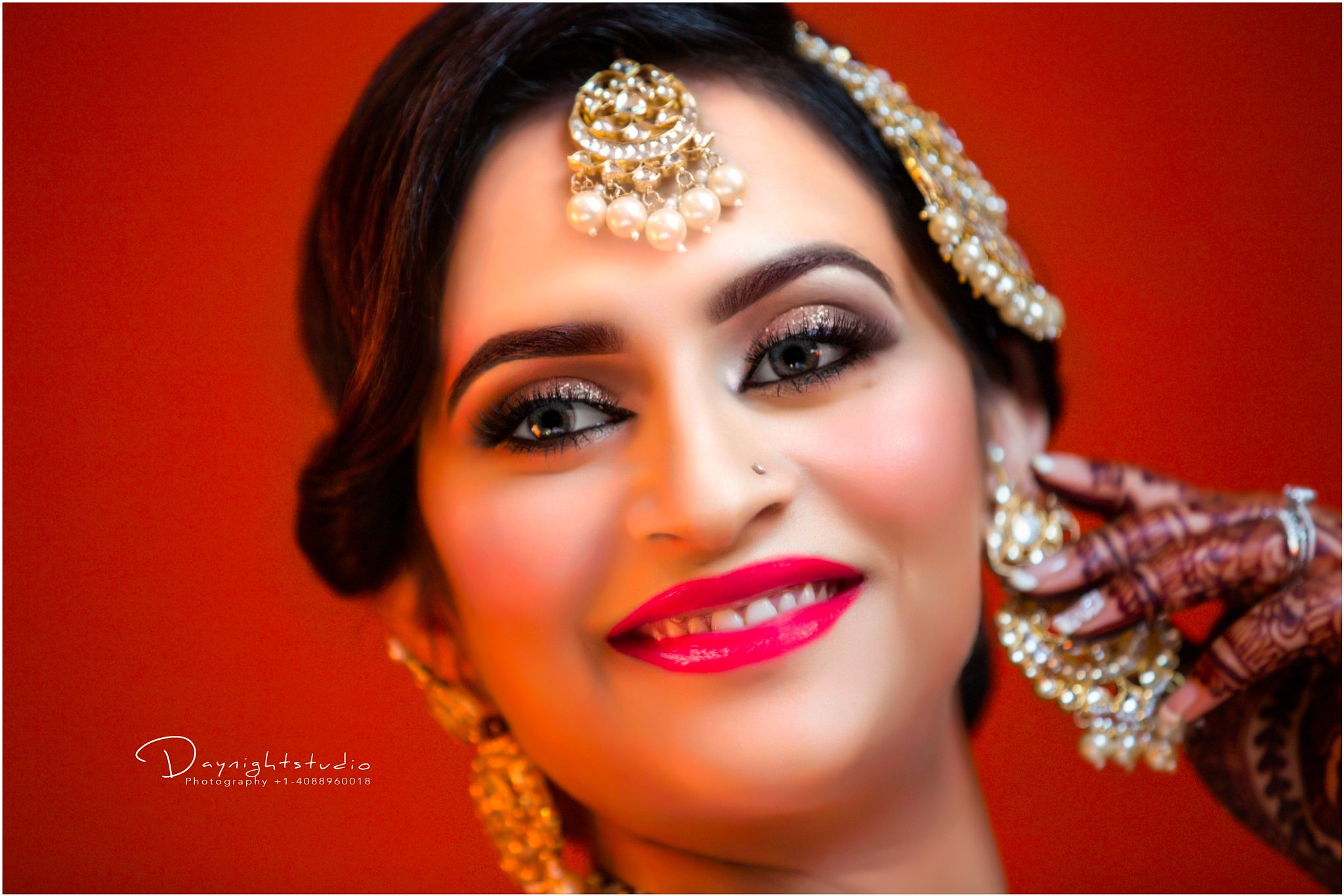 Indian Bride portrait Shoot  by Nihang Khalsa Singh