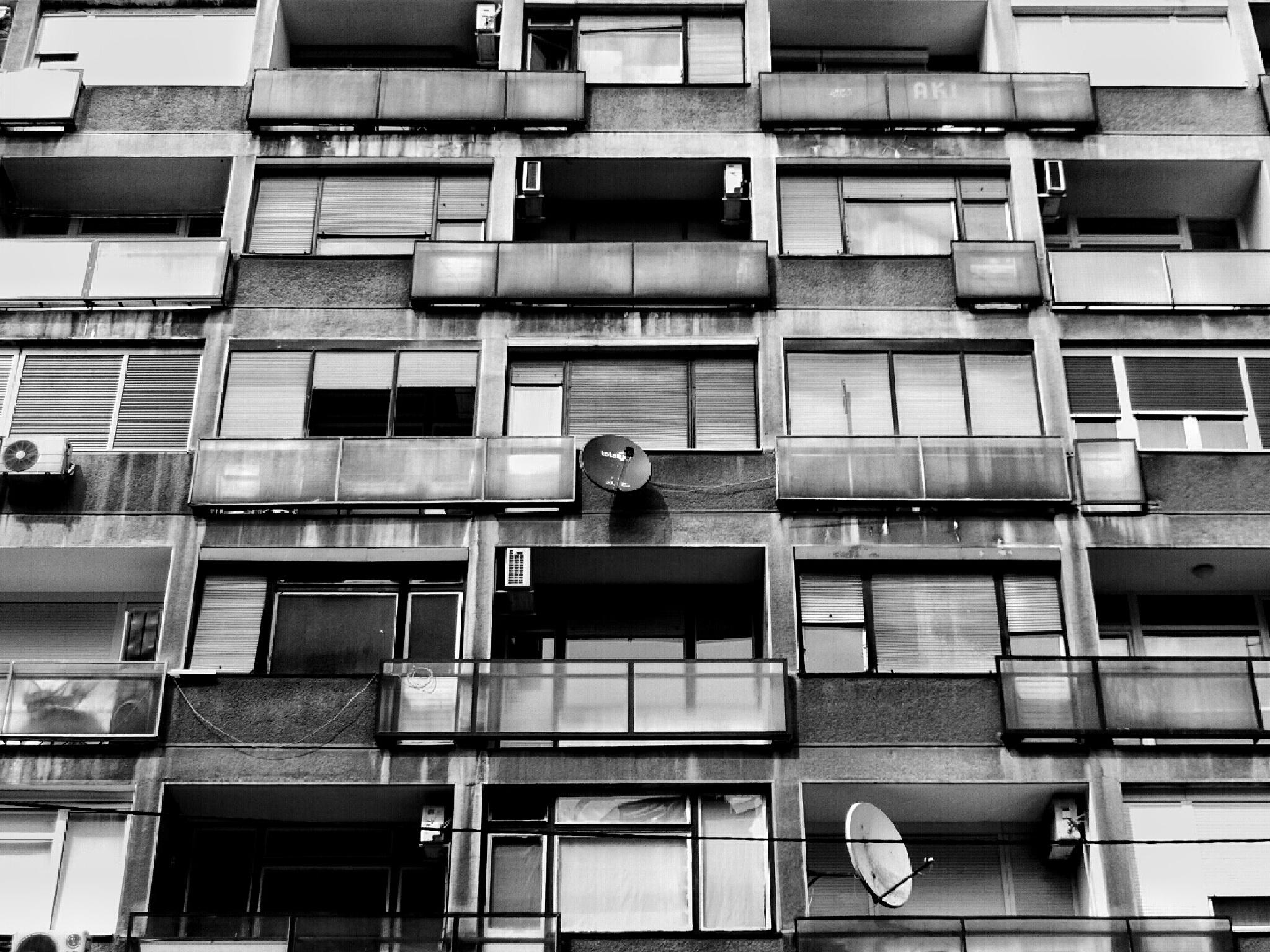 gray feeling by Sladjana Grbić