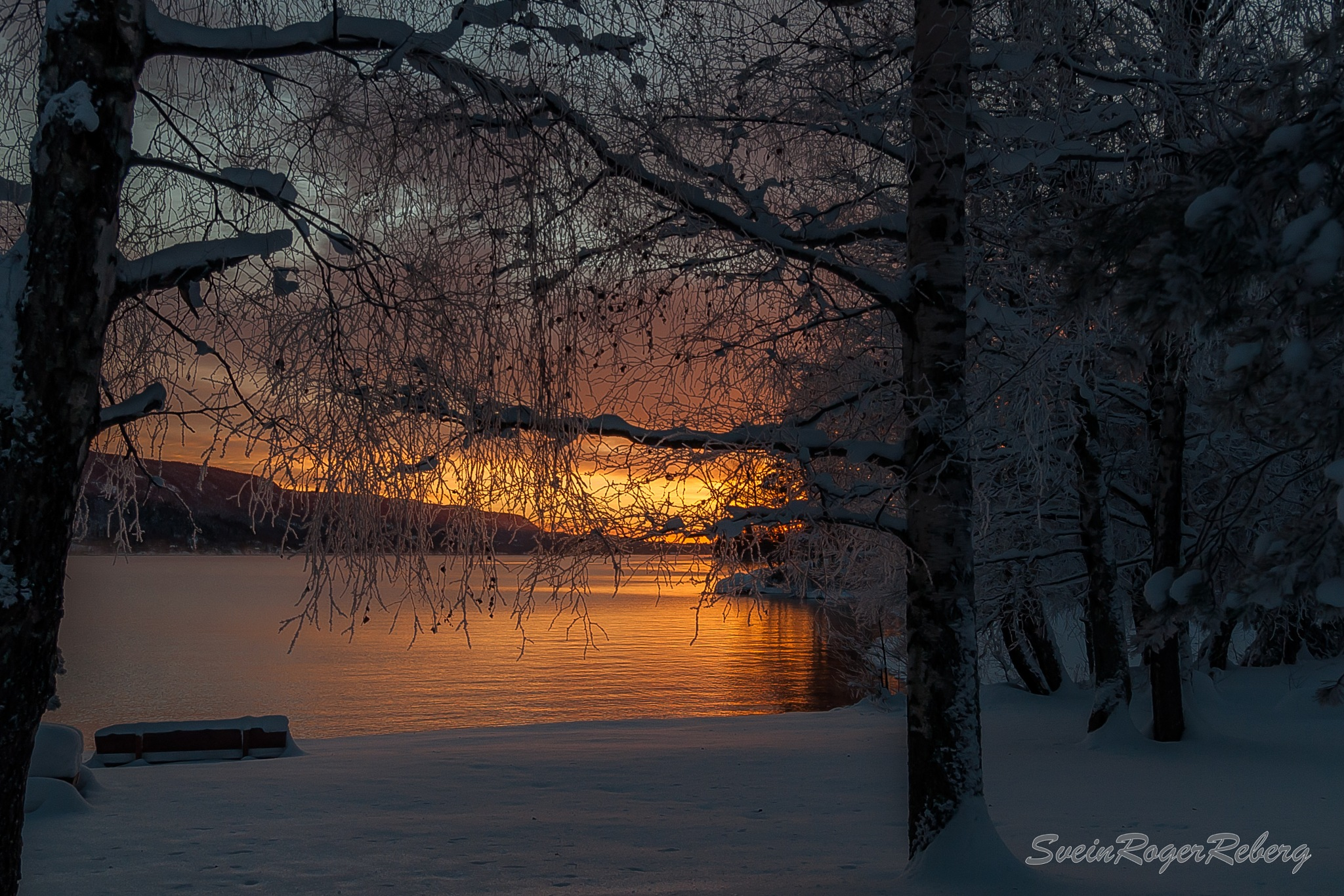 Winter and cold by Svein Roger Reberg