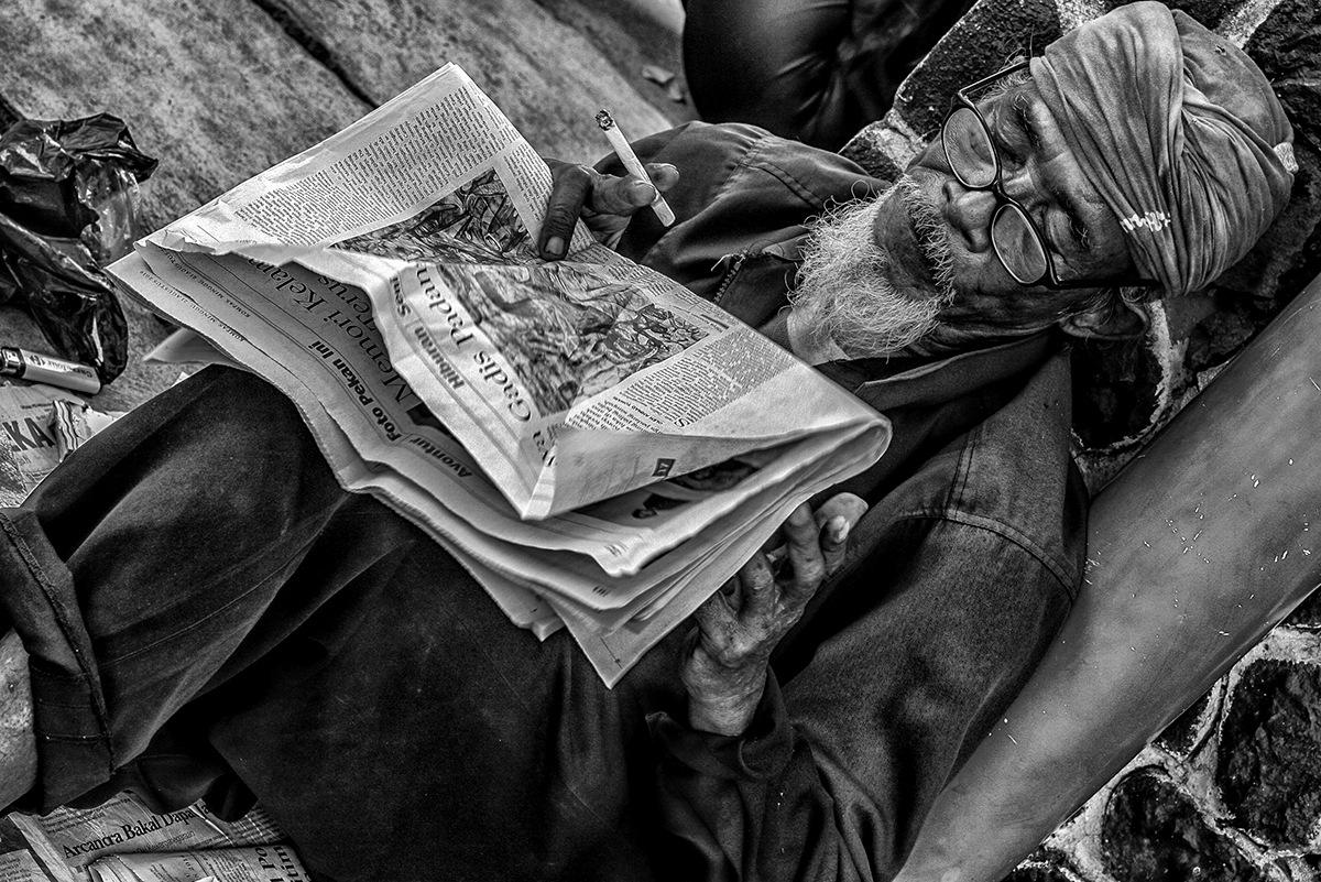 old man by Andi Nugroho Pambudi