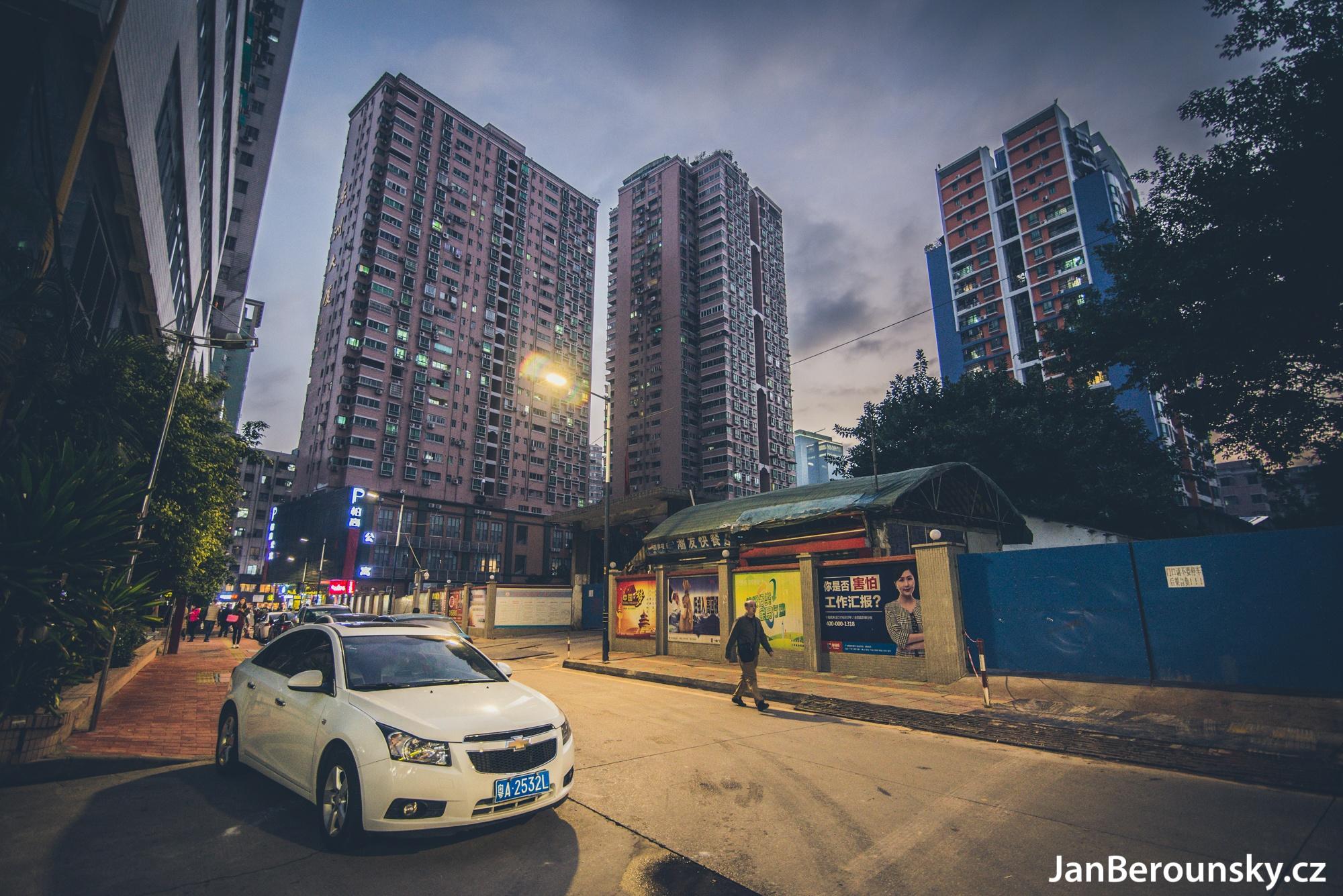 Streets of Guangzhou by Jan Berounský
