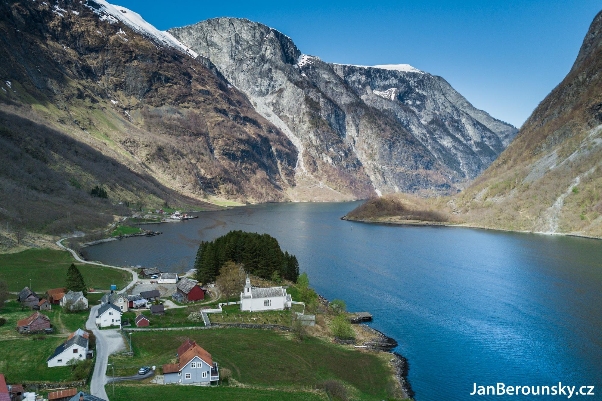 Geirangerfjorden by Jan Berounský