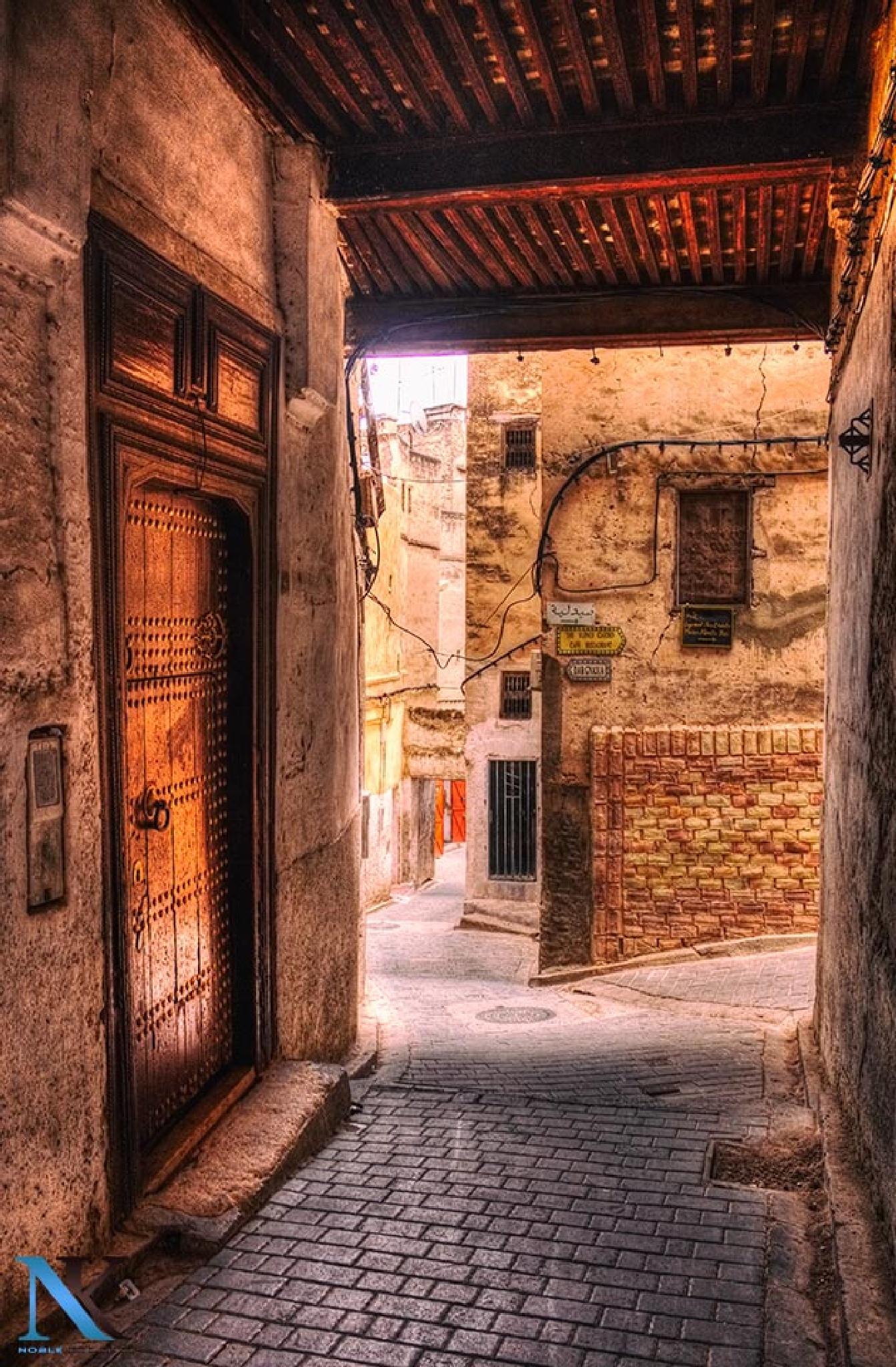 Old derb in old Medina fes : the 12 Centuries city  by Najib Khayati