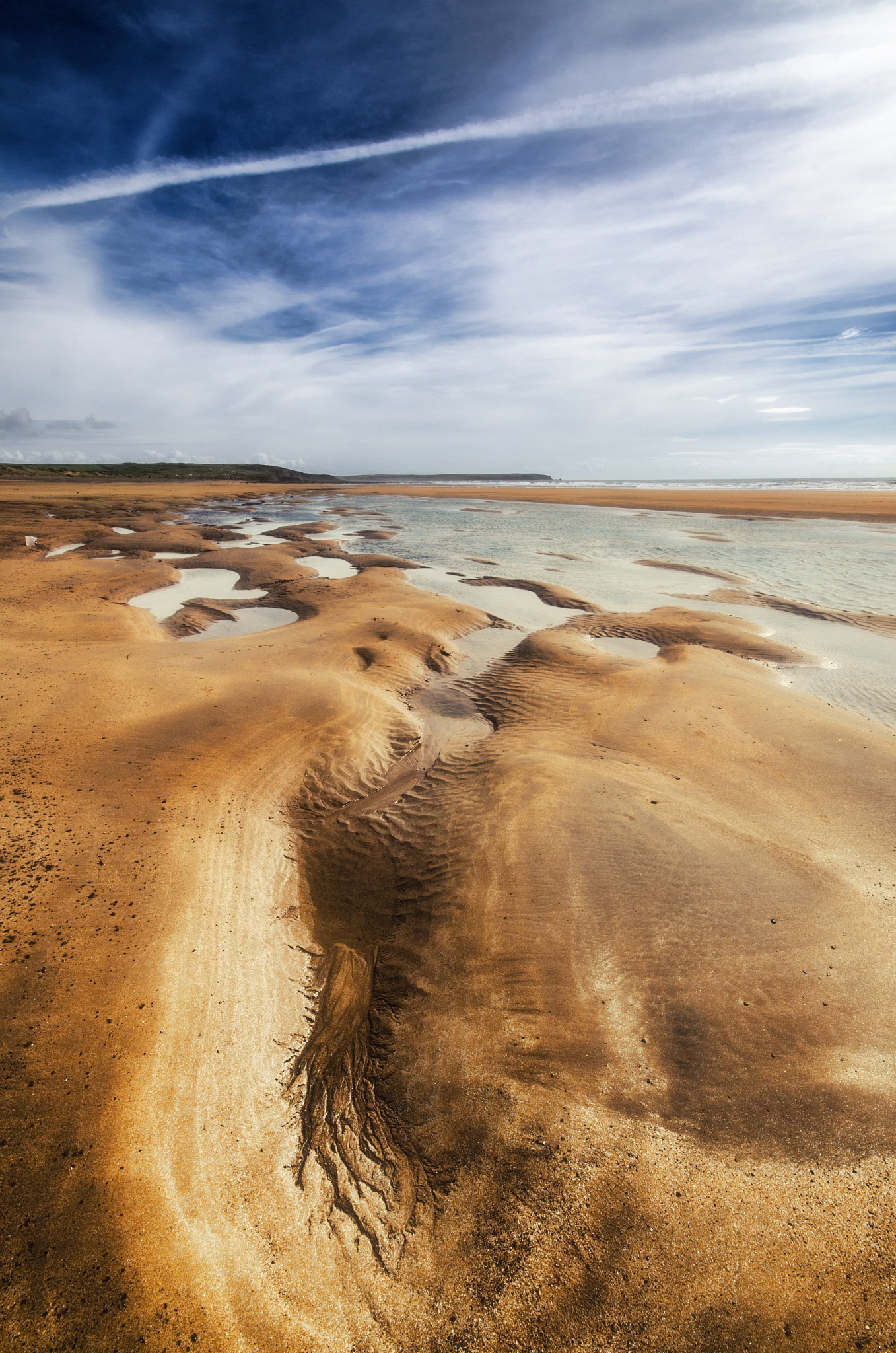 Channels in the Sand by Chris Sweet