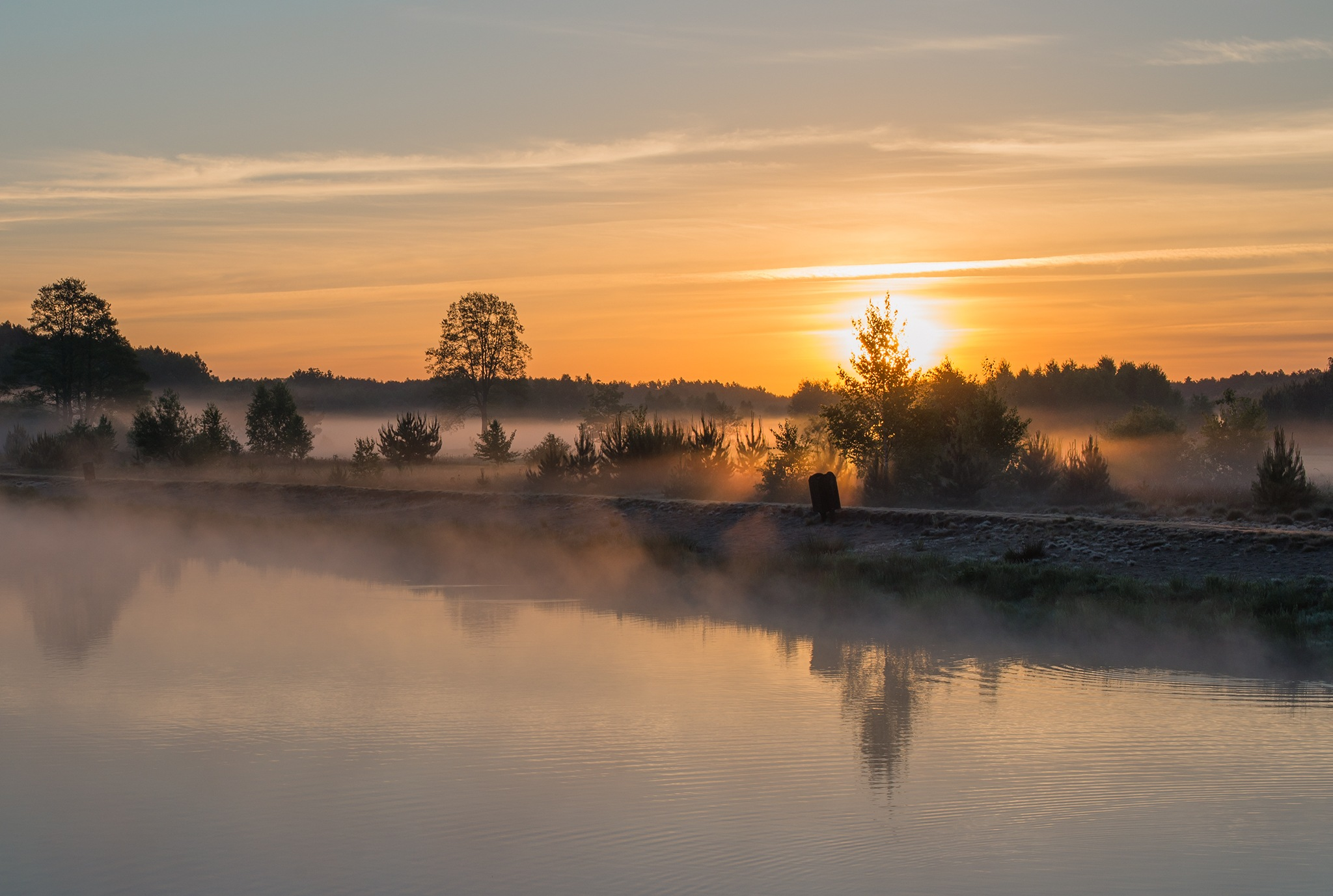 Misty Lake - part1 by Damian Pawlos