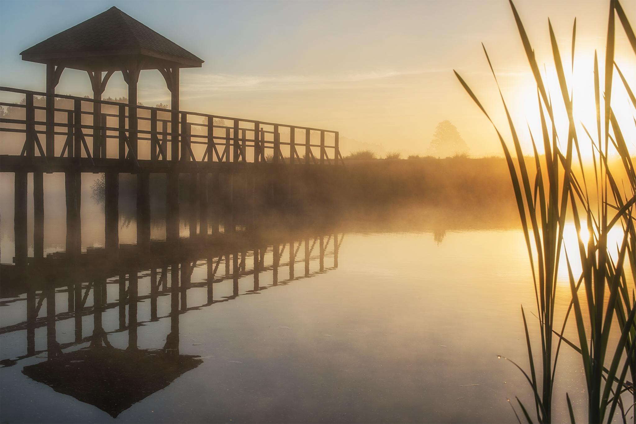 Misty Lake - part3 by Damian Pawlos