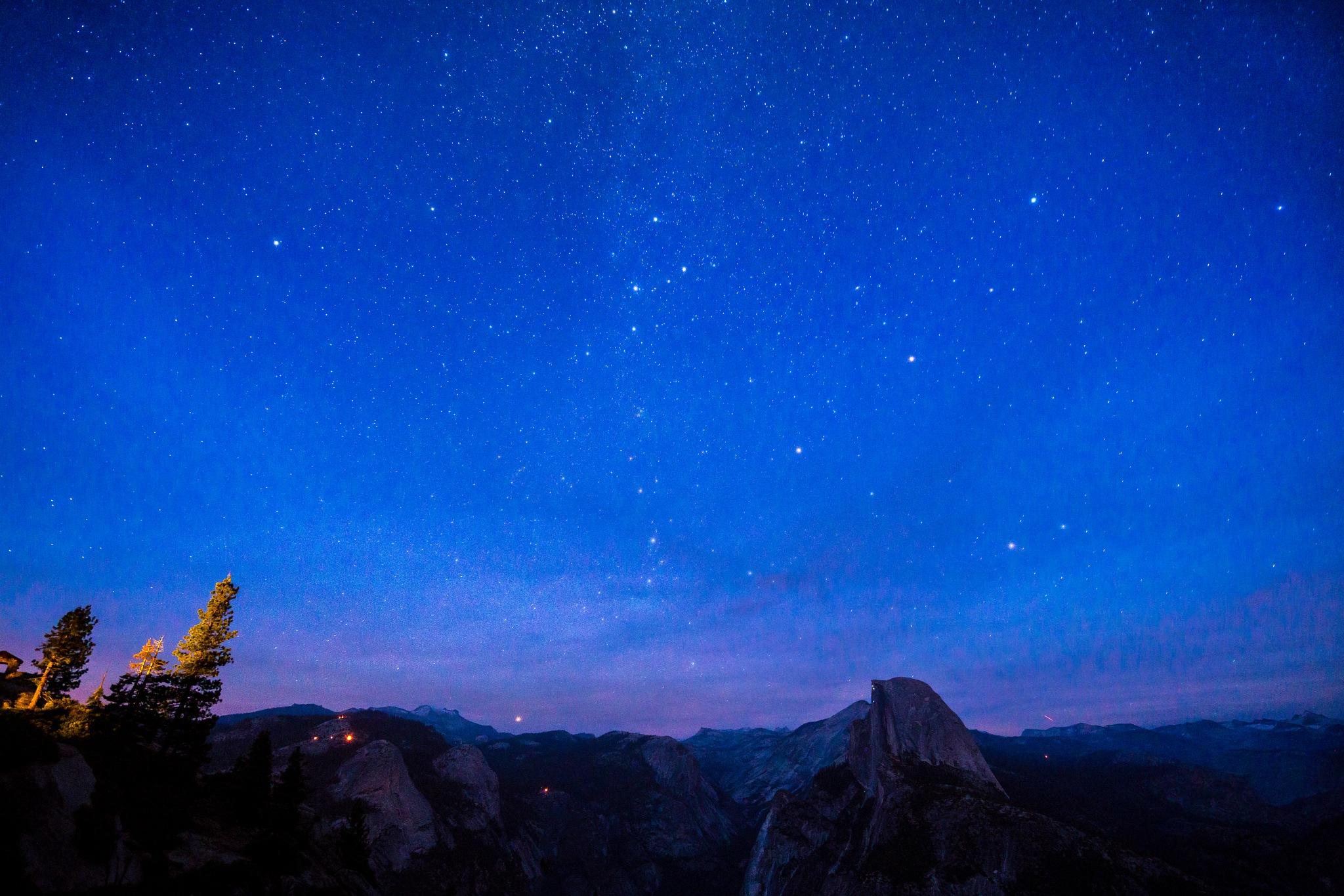 Yosemite, Glacier Point by Ian Liu