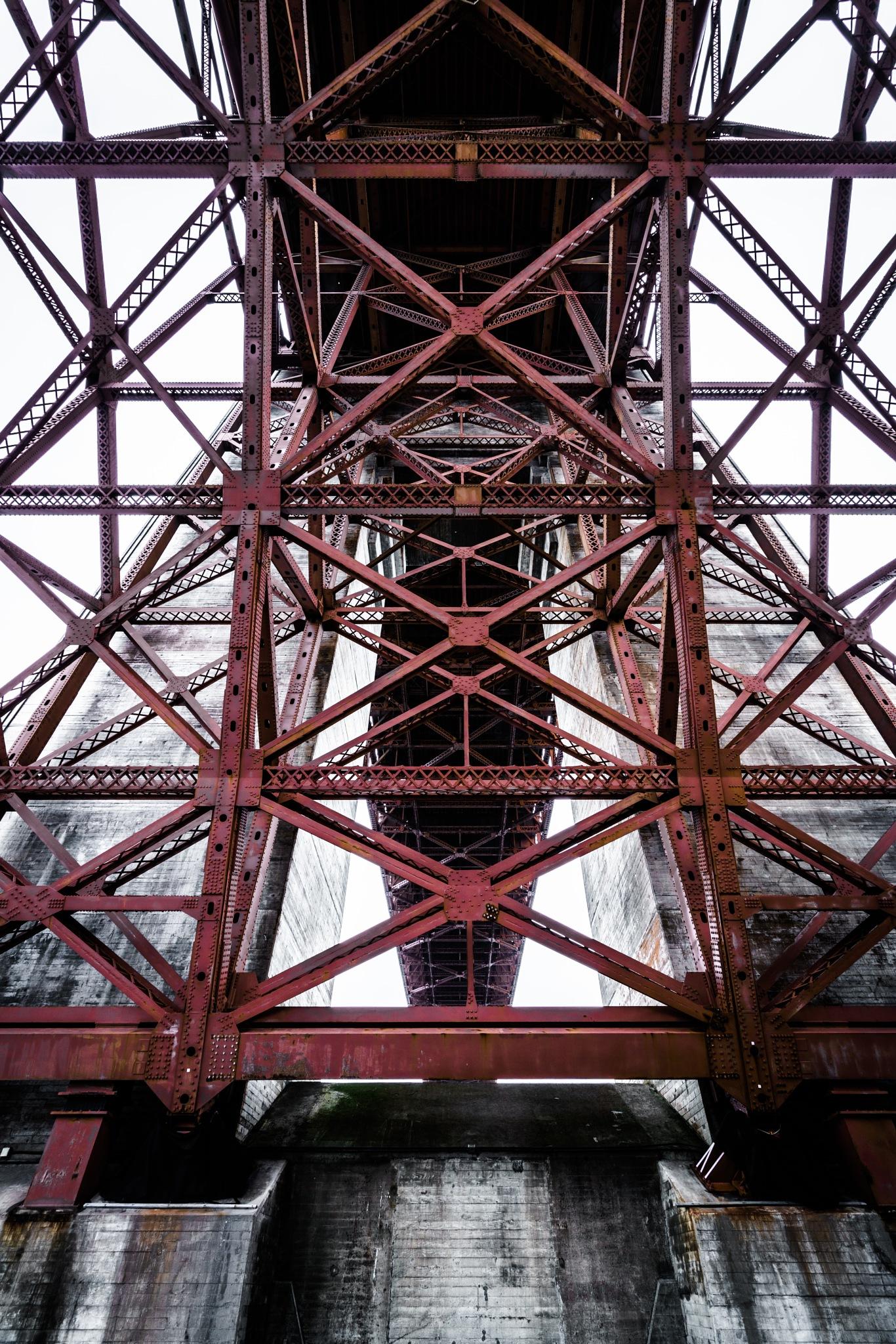 Golden Gate Bridge - The Masterpiece by Ian Liu