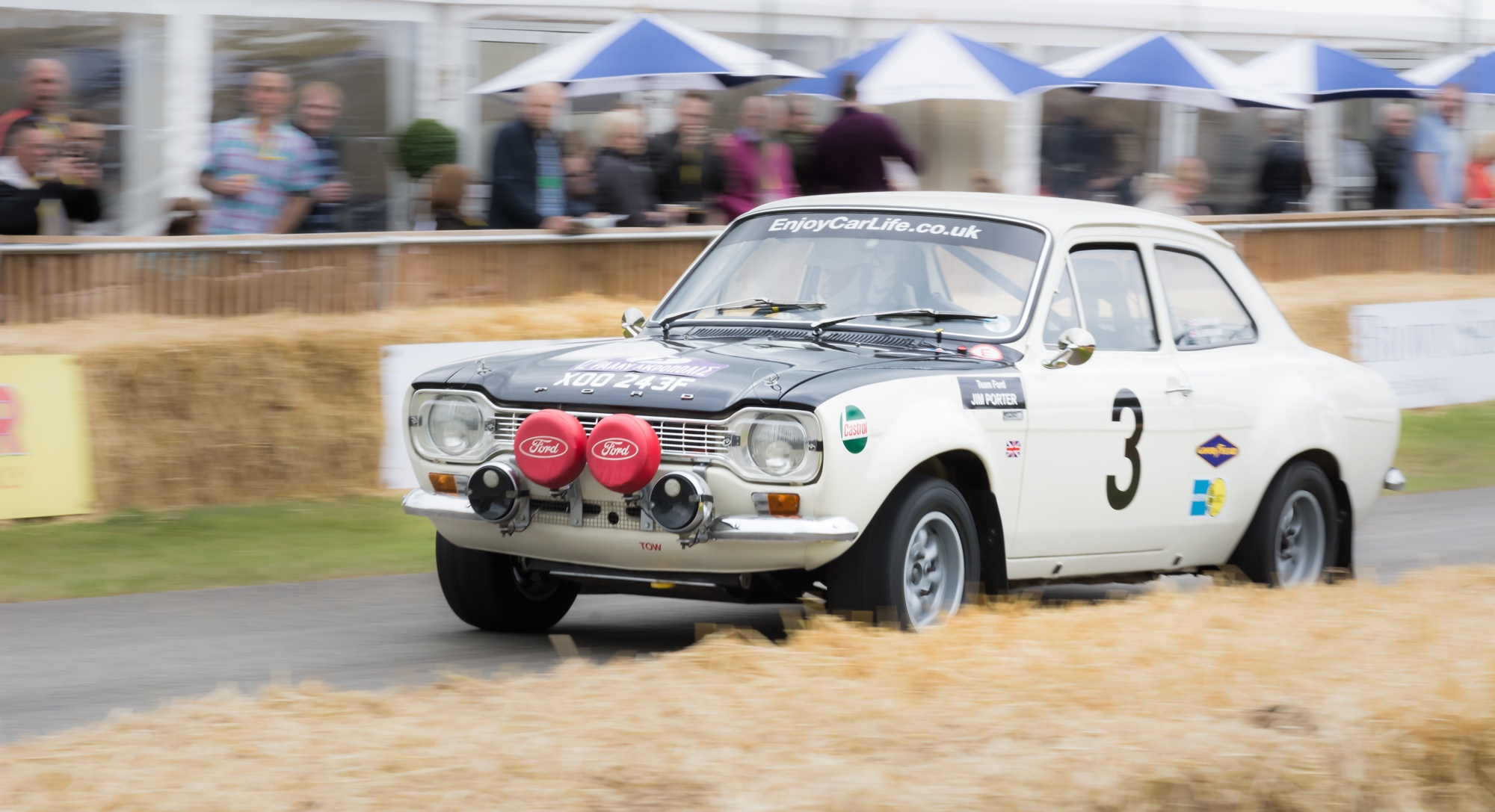 £250,000 buys you an ex-works rally prepared MkI Ford Escort. Bargain. by Roo Terry