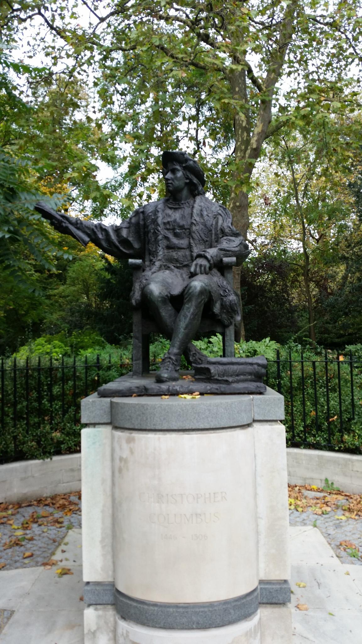 Christopher Columbus by Reyhan K-Luttman