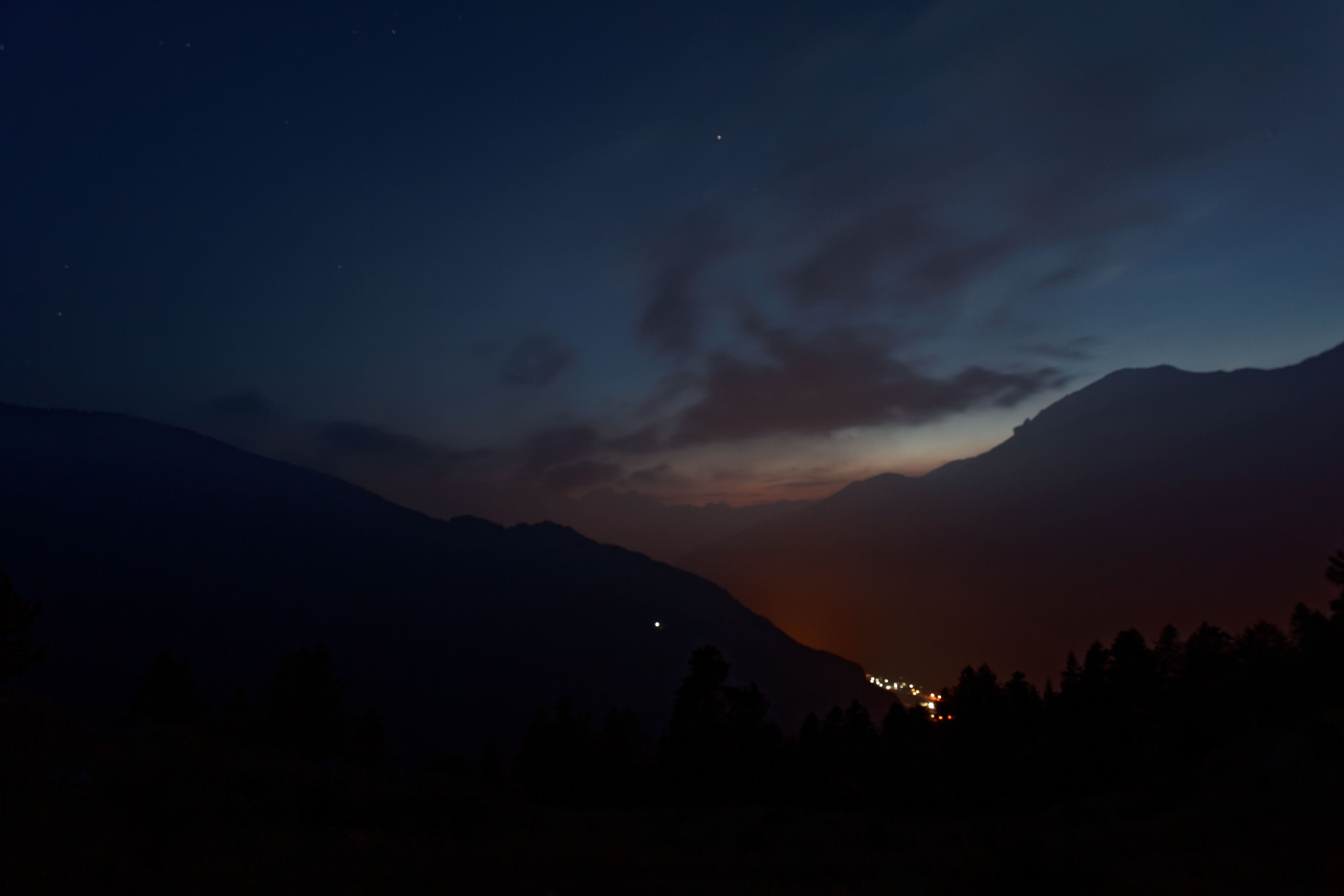 By night by Andrea Zork Abbà