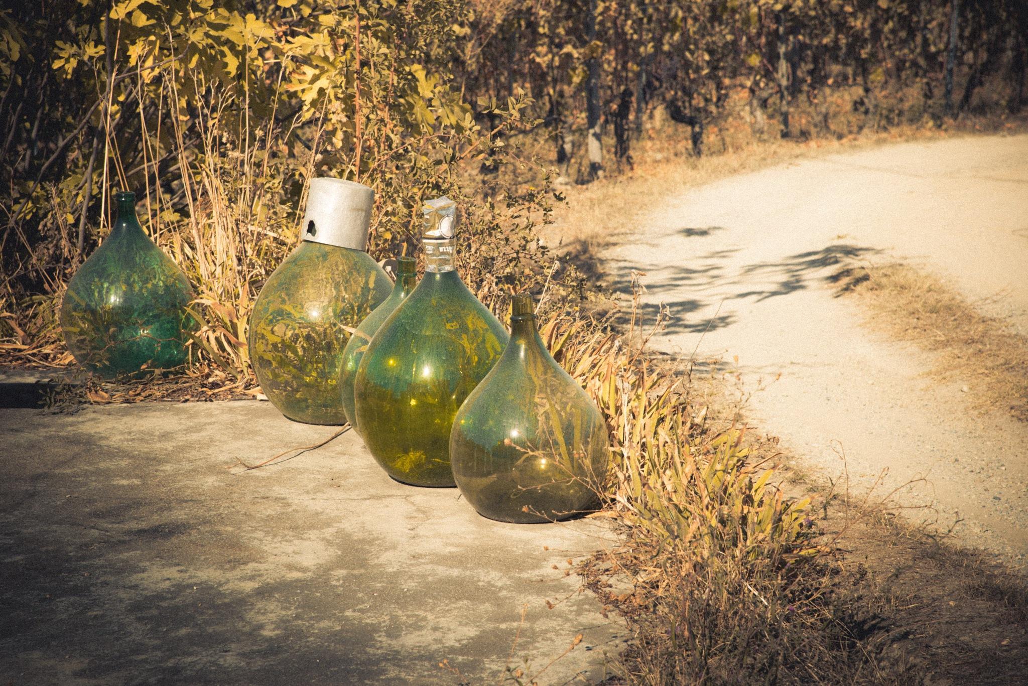 Old bottles by Andrea Zork Abbà