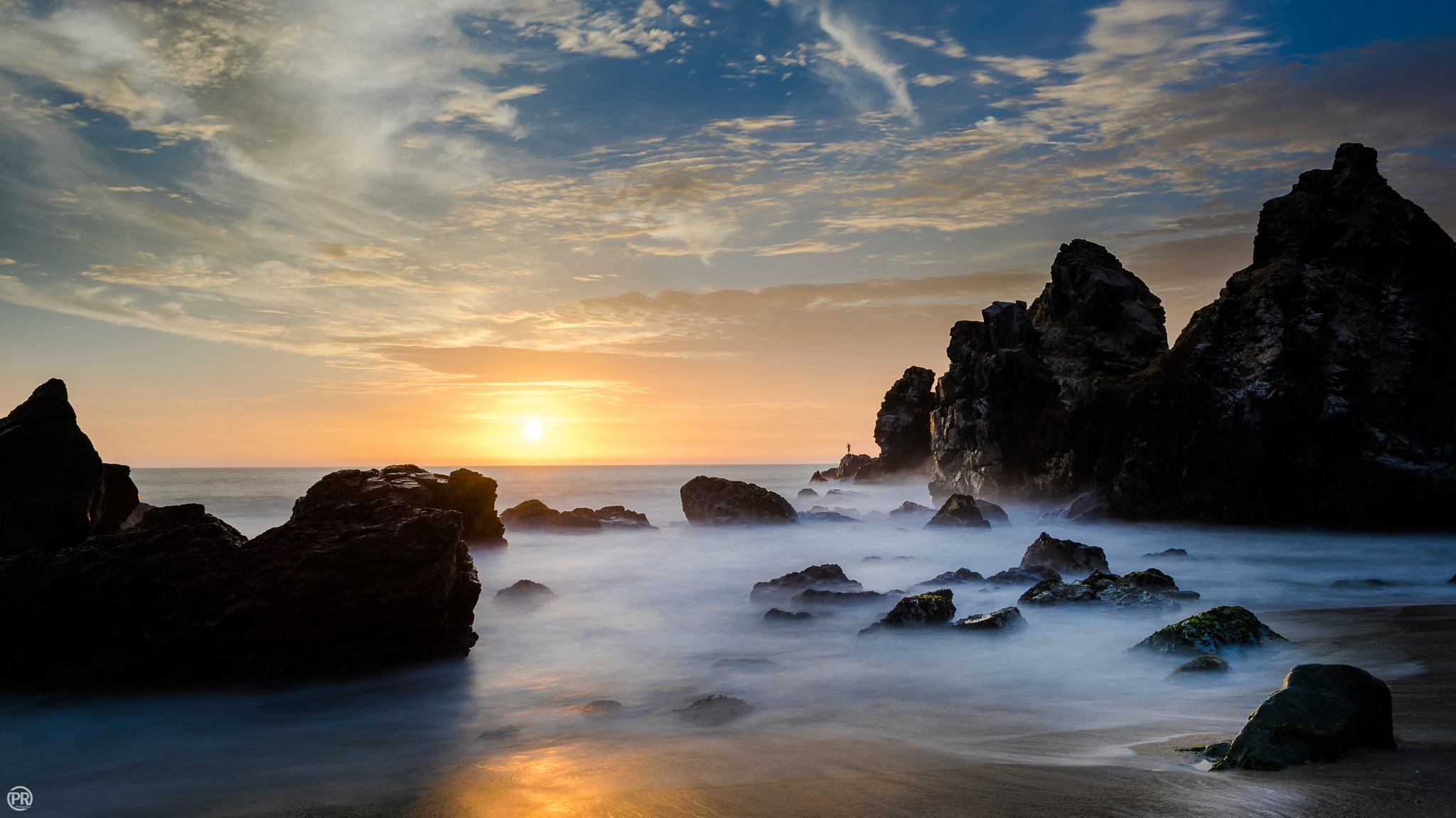 Sunset - Punta Negra´Beach - Lima  by Peter Rosales Photography