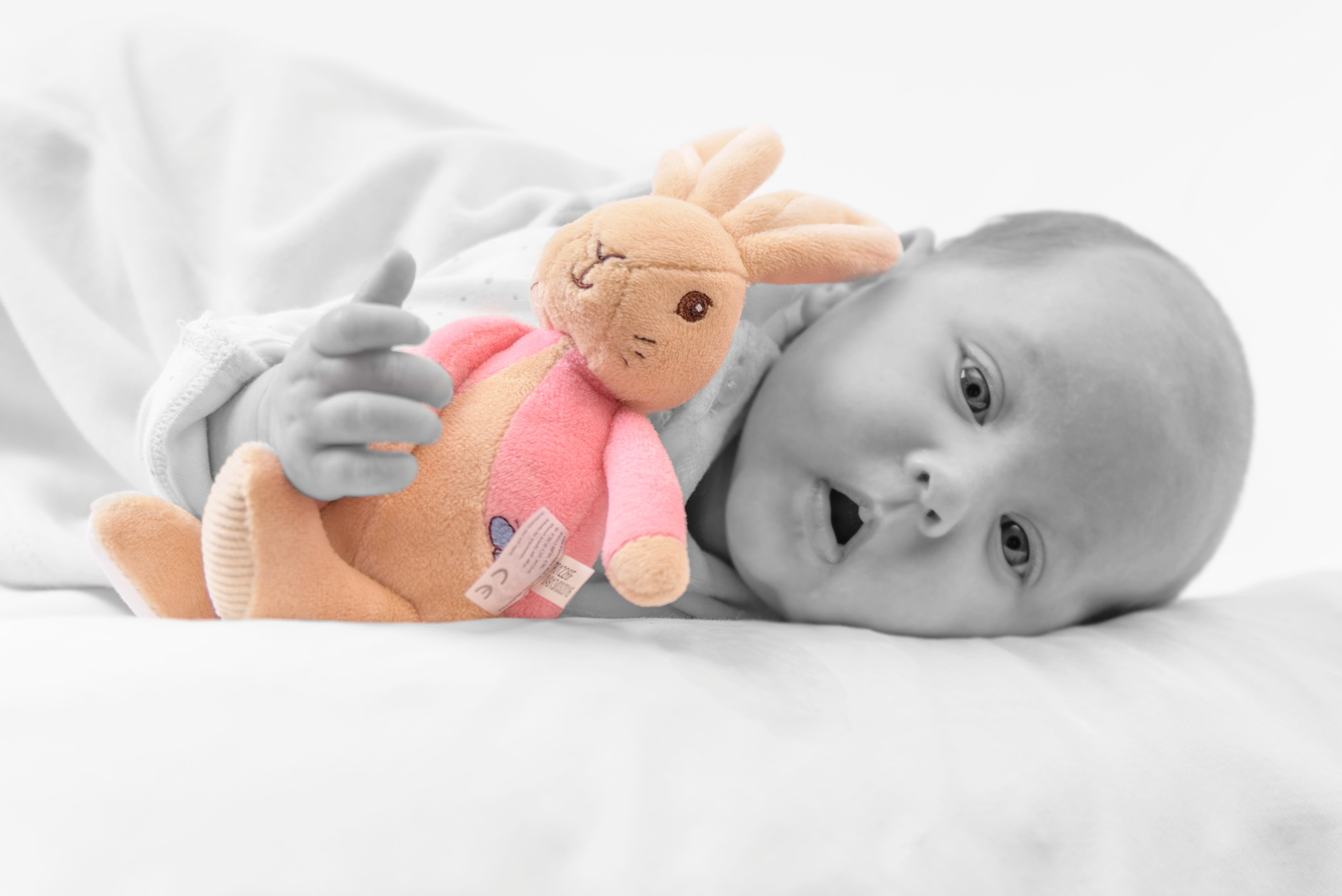 Darcey with favourite toy by Gary Bibby