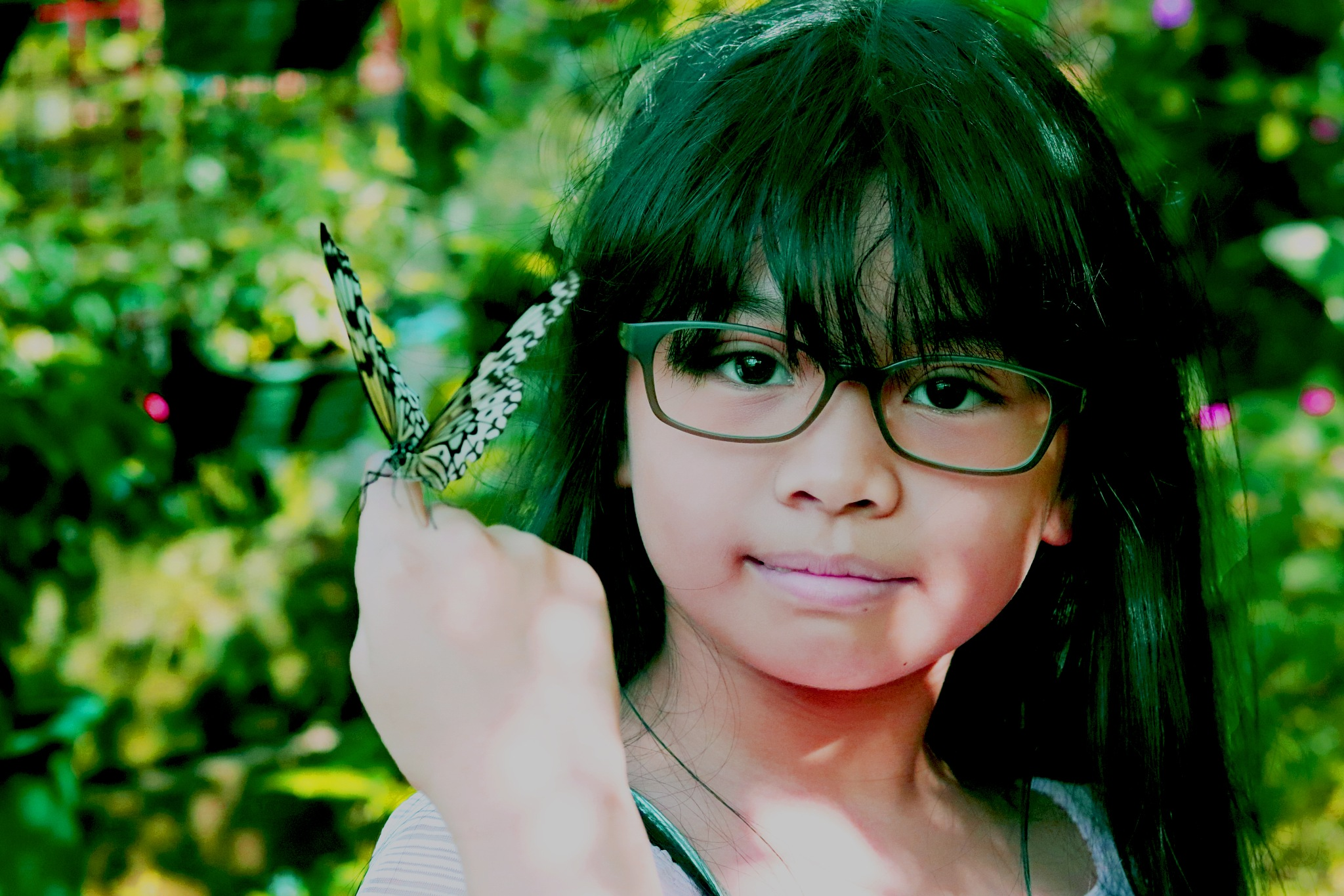 Me and Butterfly by Arvin Cada