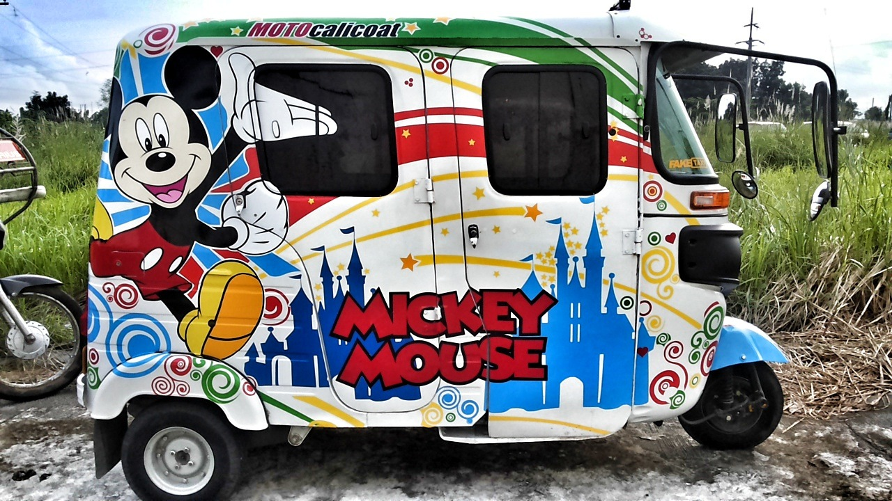 Mickey mouse trike by Arvin Cada