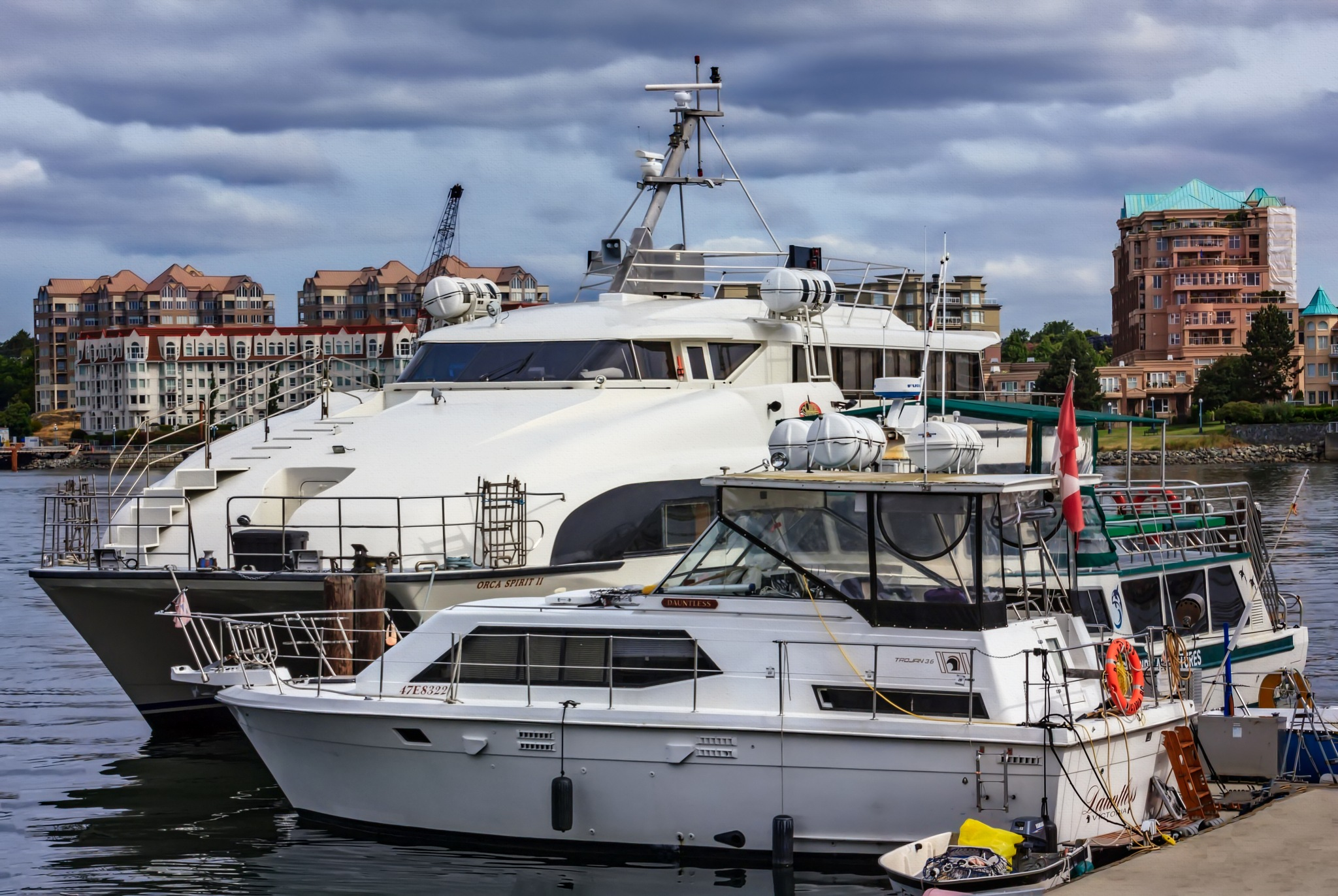 Victoria Harbour by GaryCorken