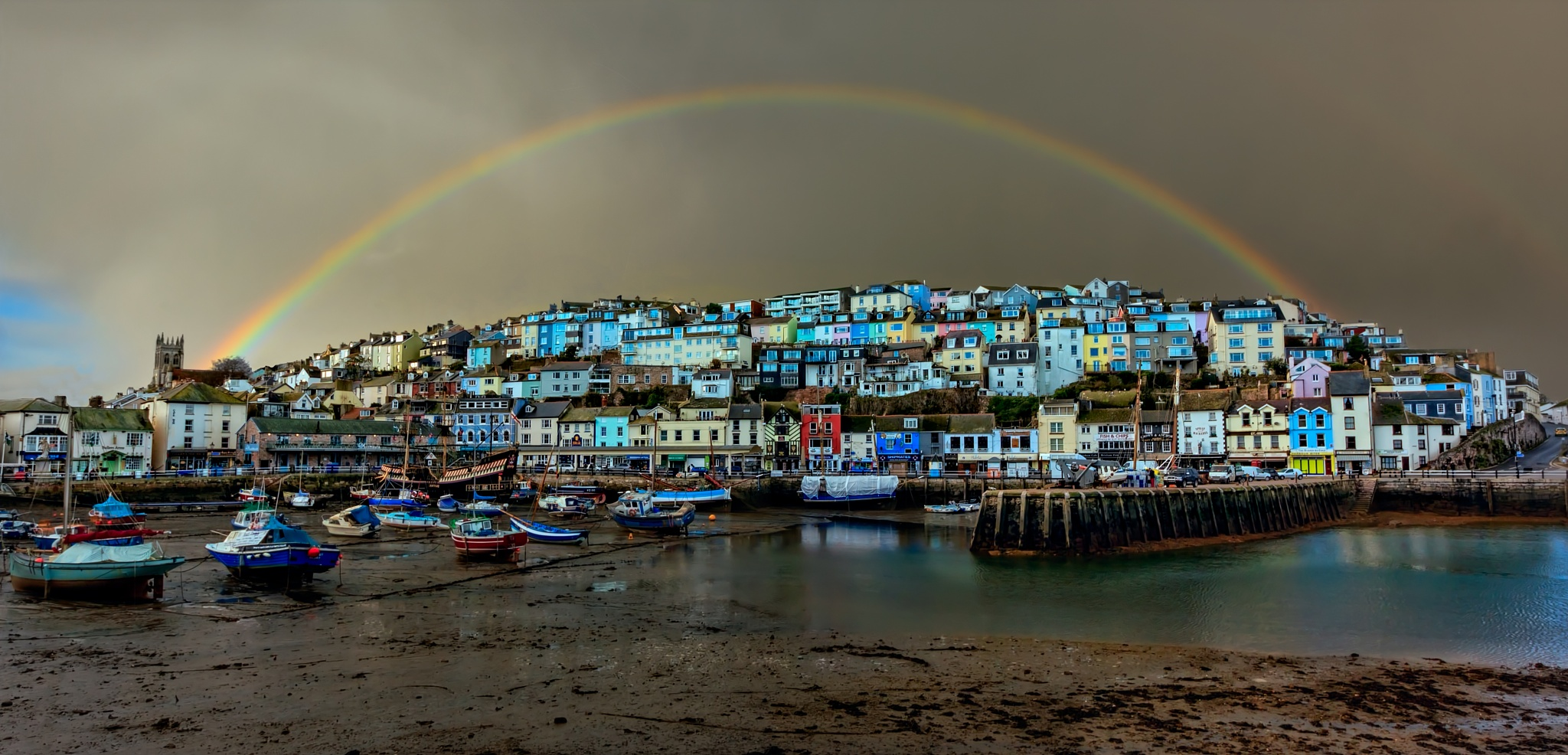 Brixham Harbour by GaryCorken