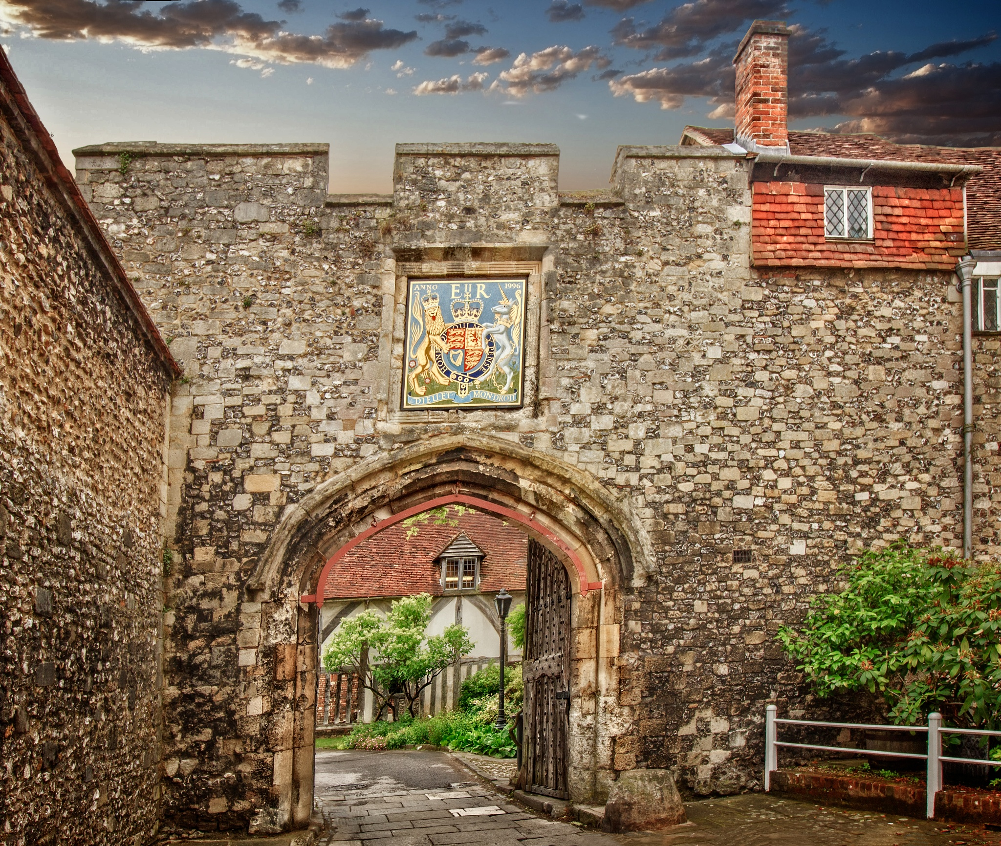Entrance Gate to Winchester Cathedral by GaryCorken