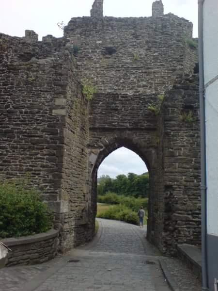 Conway castle by Kellee Davies Varanakis