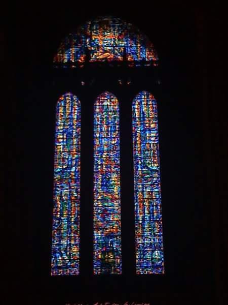 Stained glass window by Kellee Davies Varanakis