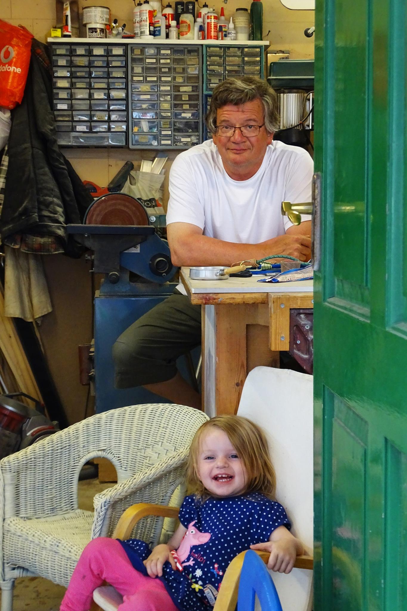 Me and Grandad own this workshop by kayThornton