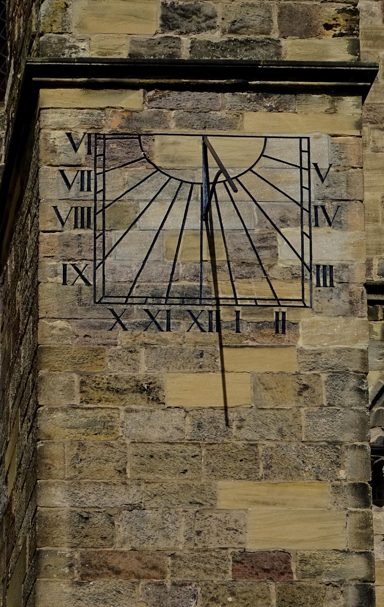 Sun Dial on Ripon Cathedral. by kayThornton