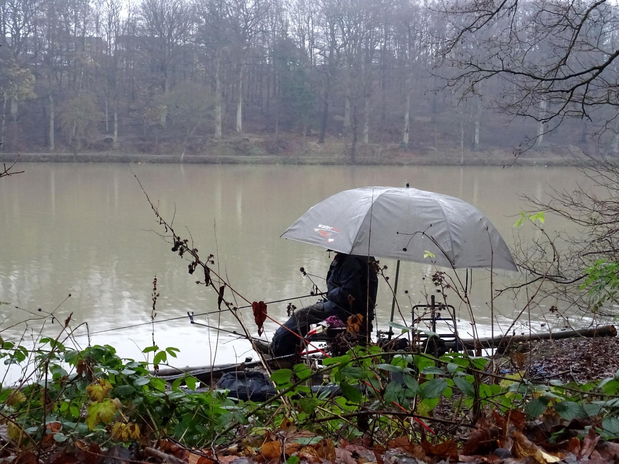 Fishing in the Fog by kayThornton