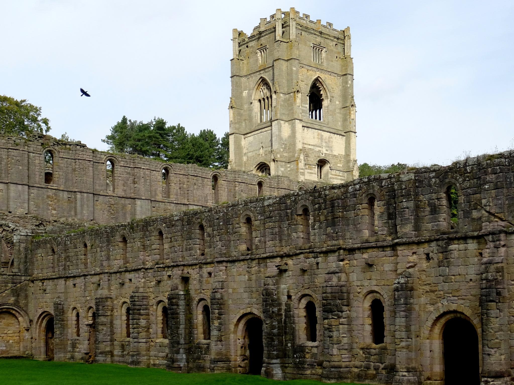 Fountains Abbey, Yorkshire. by kayThornton