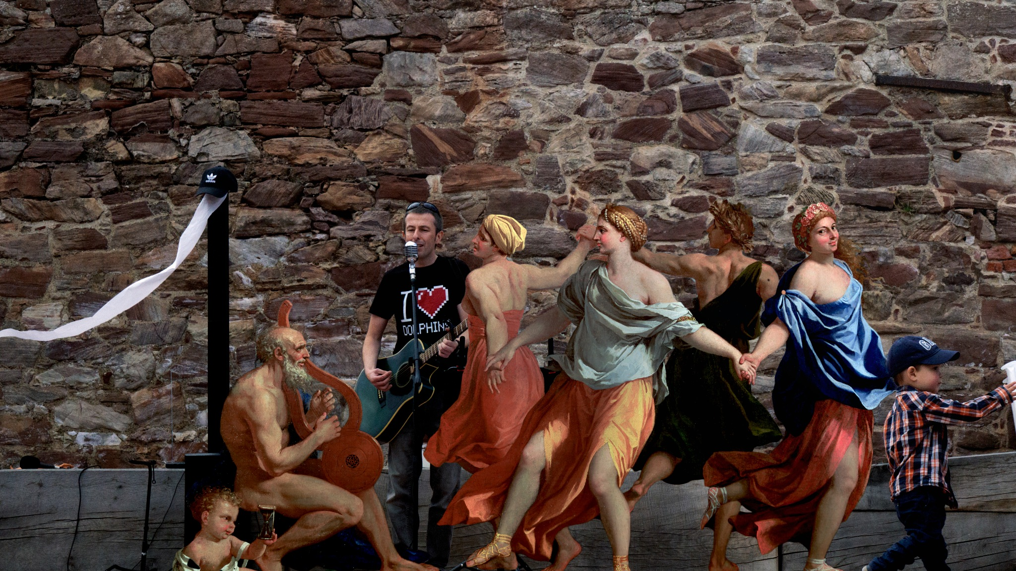 Jon & Plato jammin' with the Platlettes by David Drummond