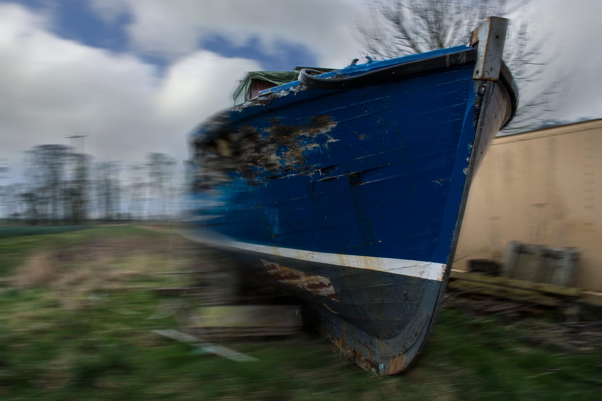Overshot The Slipway by David Drummond