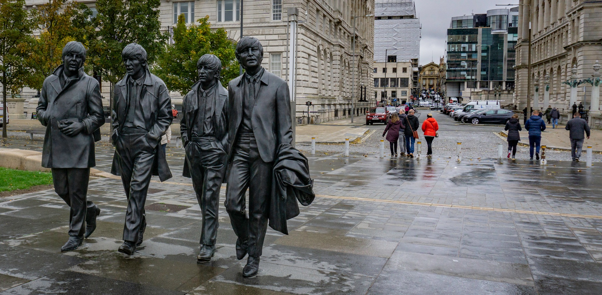 The Fab 4 by David Drummond