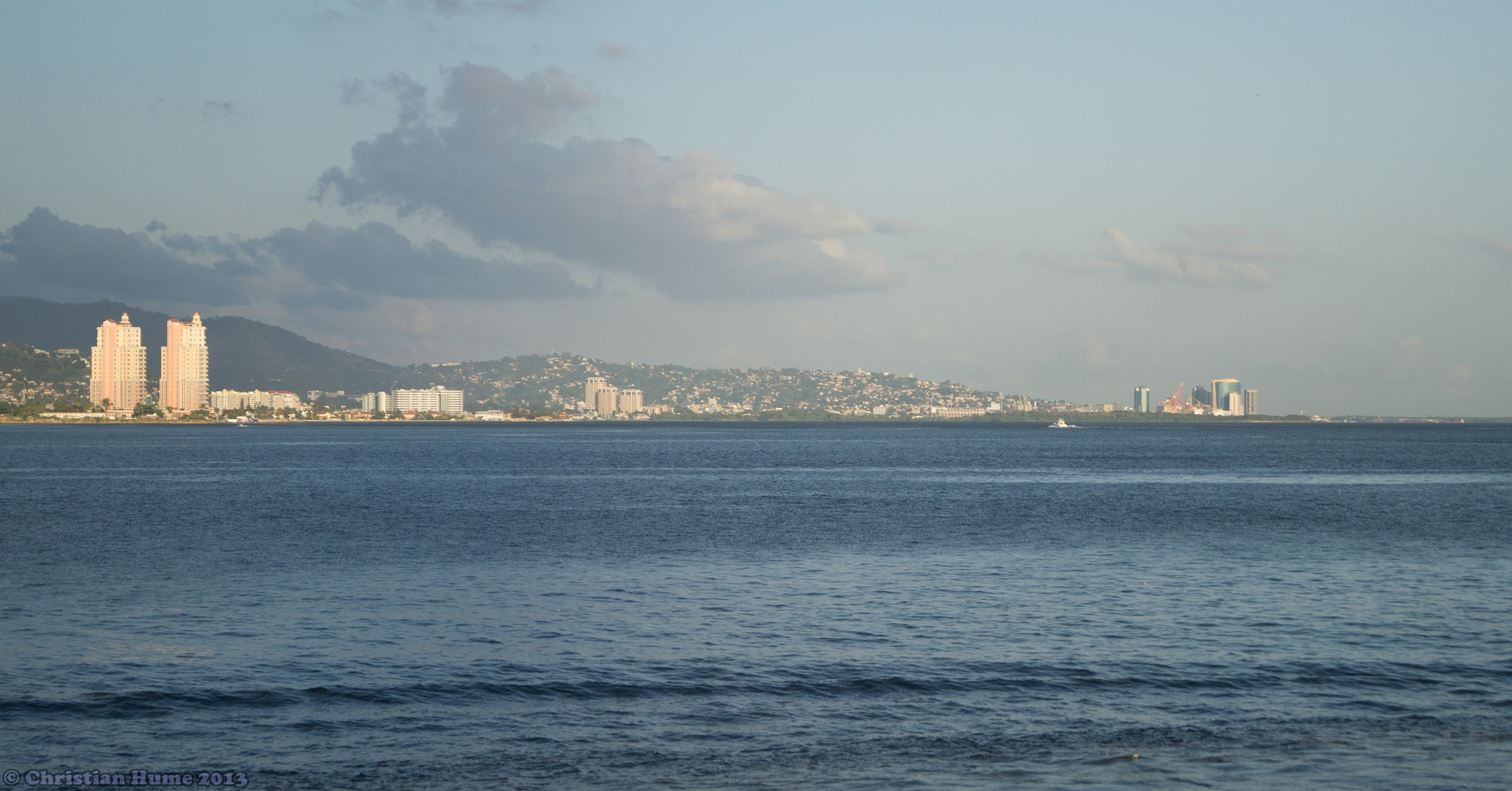 Port-of-Spain and Environs  by Christian Hume