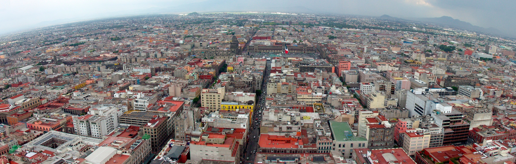 Mexico City old town by Peter Blaha