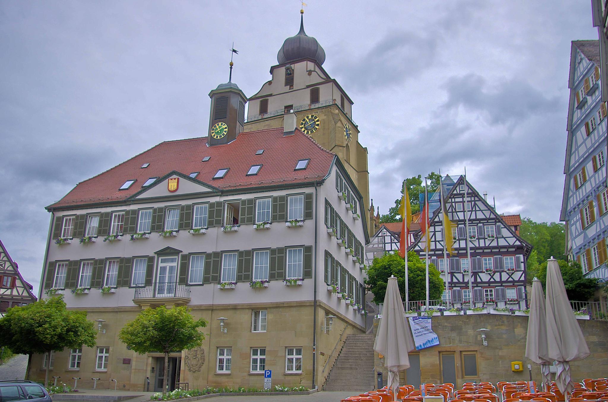 City Hall Herrenberg by Peter Blaha