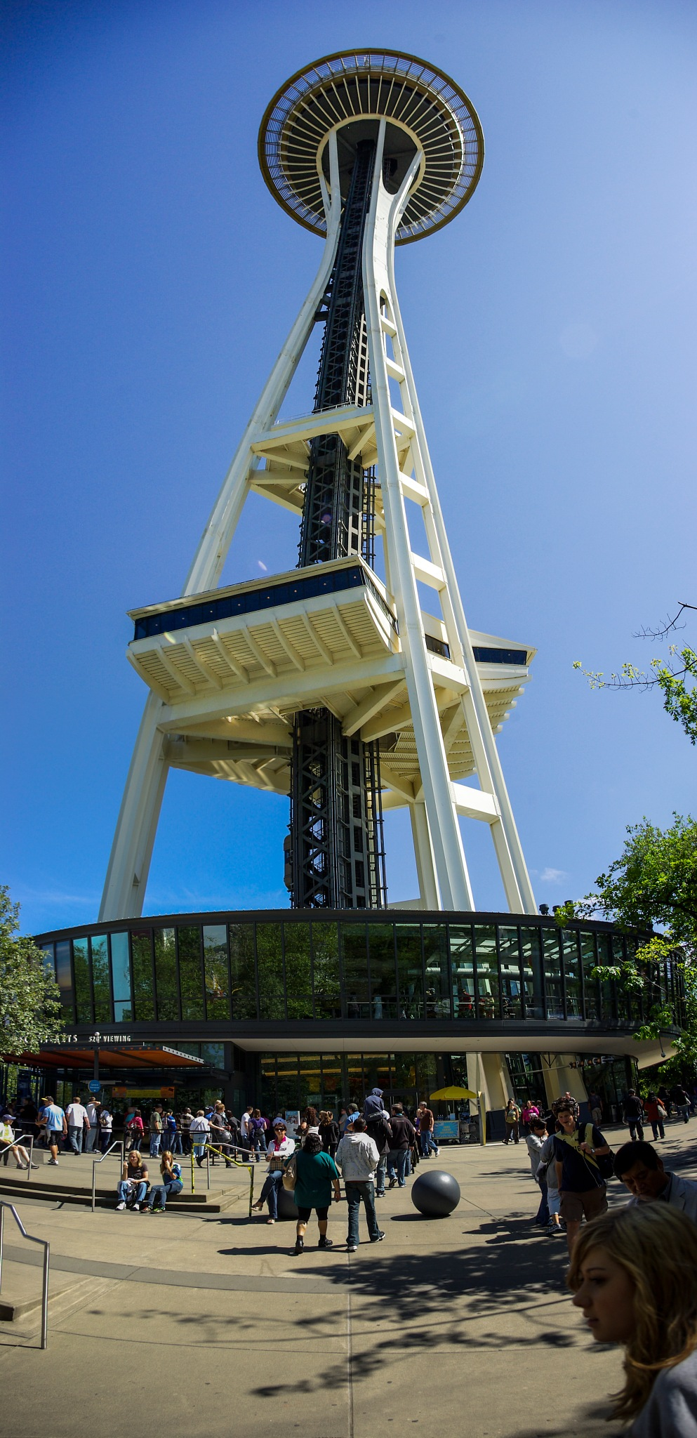 Space Needle by Peter Blaha