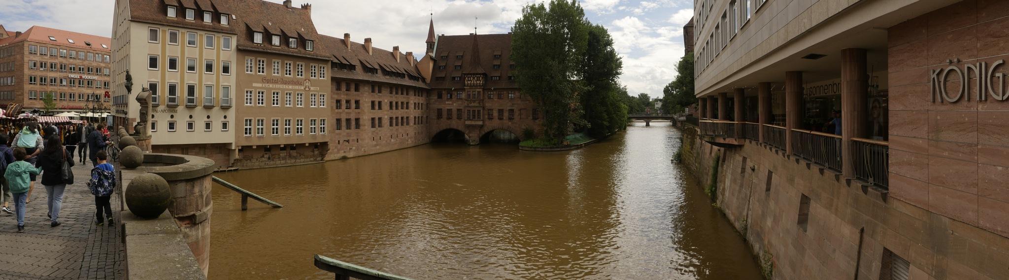 Bridge in Nuremberg by Peter Blaha