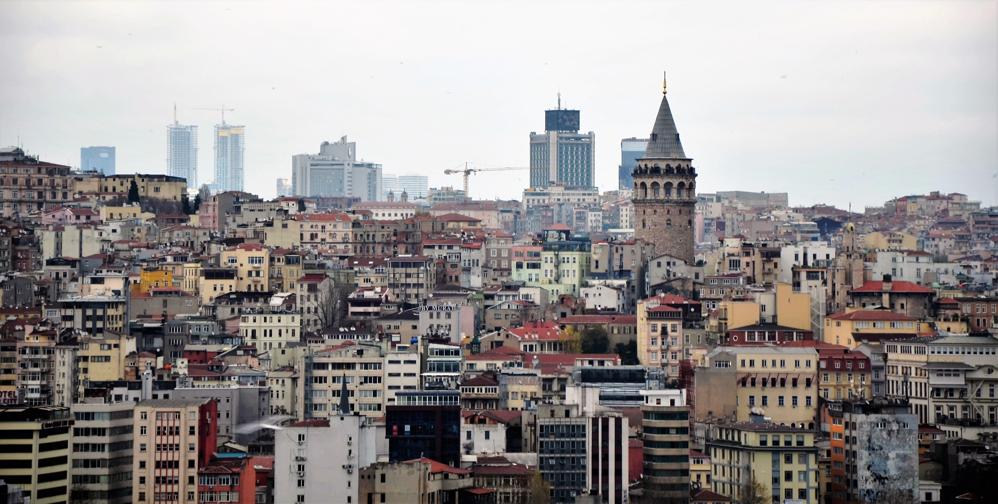 Galata Tower by Amer Sy