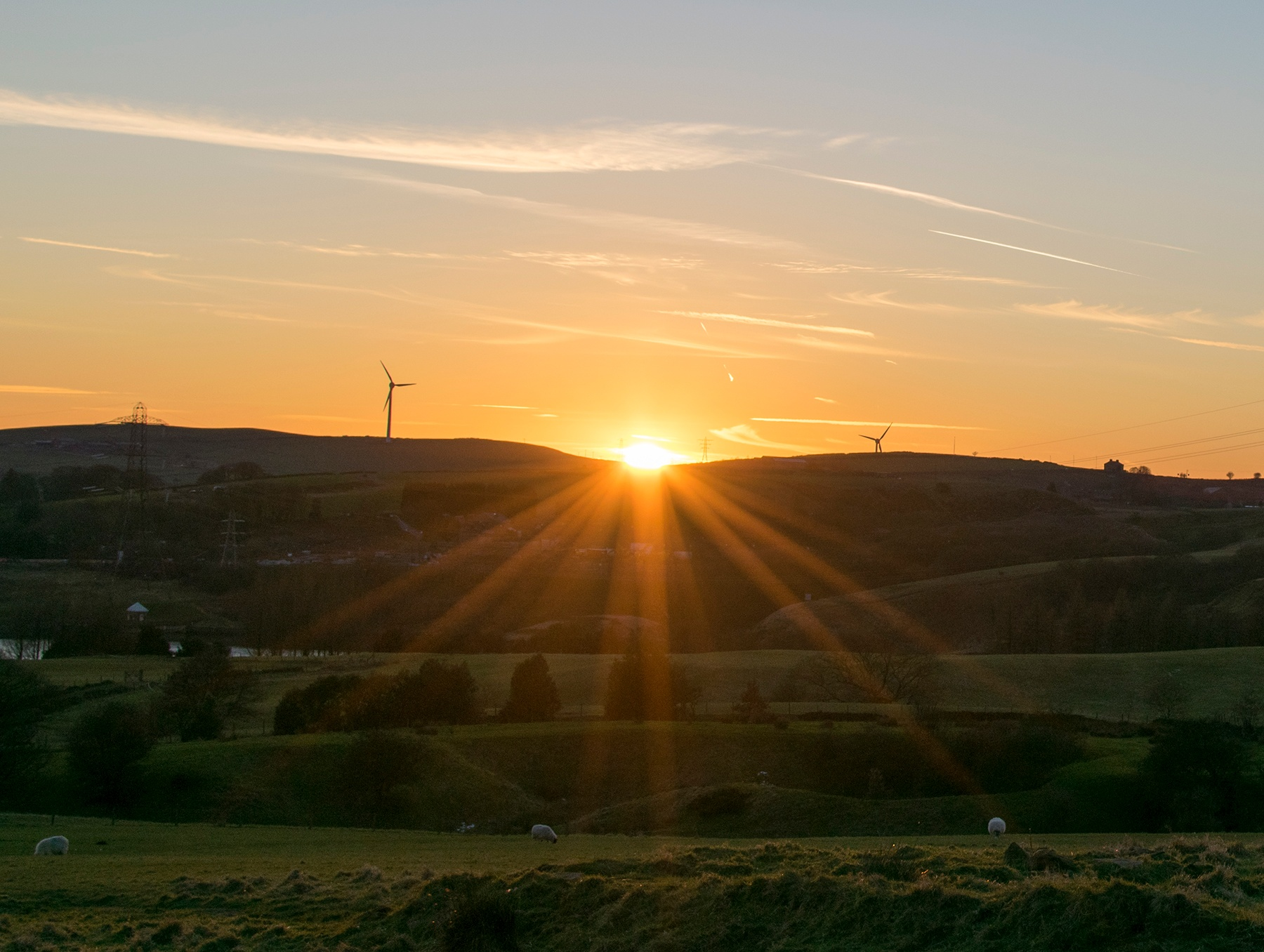 Sun and wind Energy  by Ian M