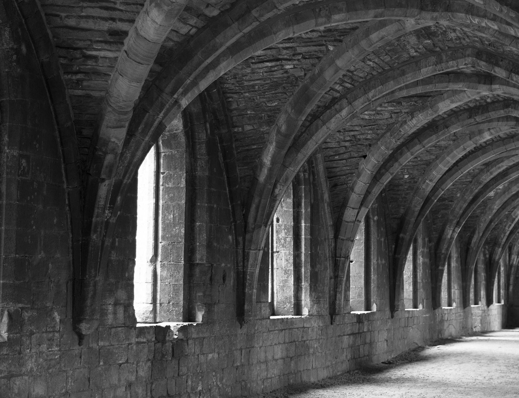 Fountains Abbey Window Openings by Ian M