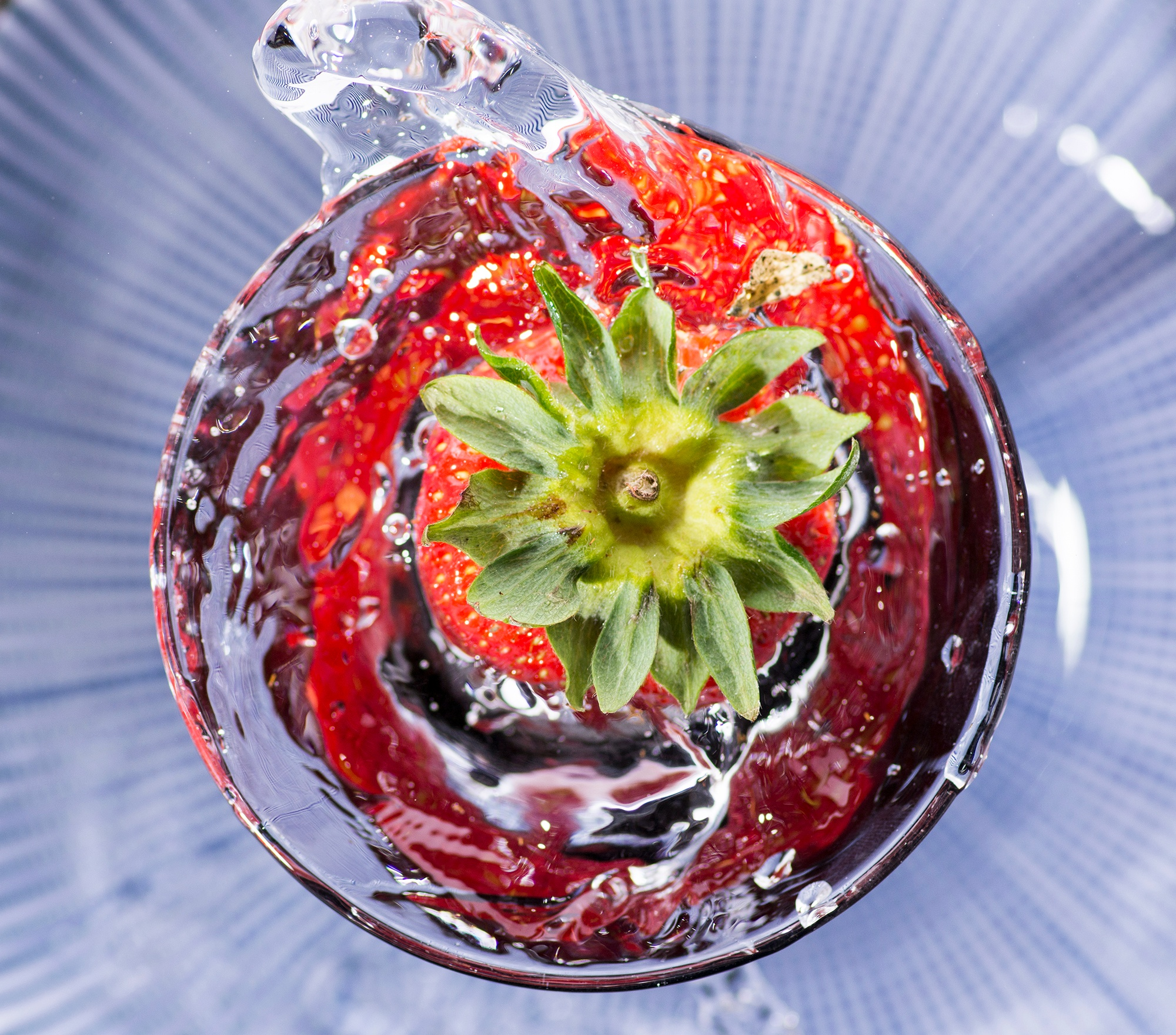 Strawberry Swirl by Ian M