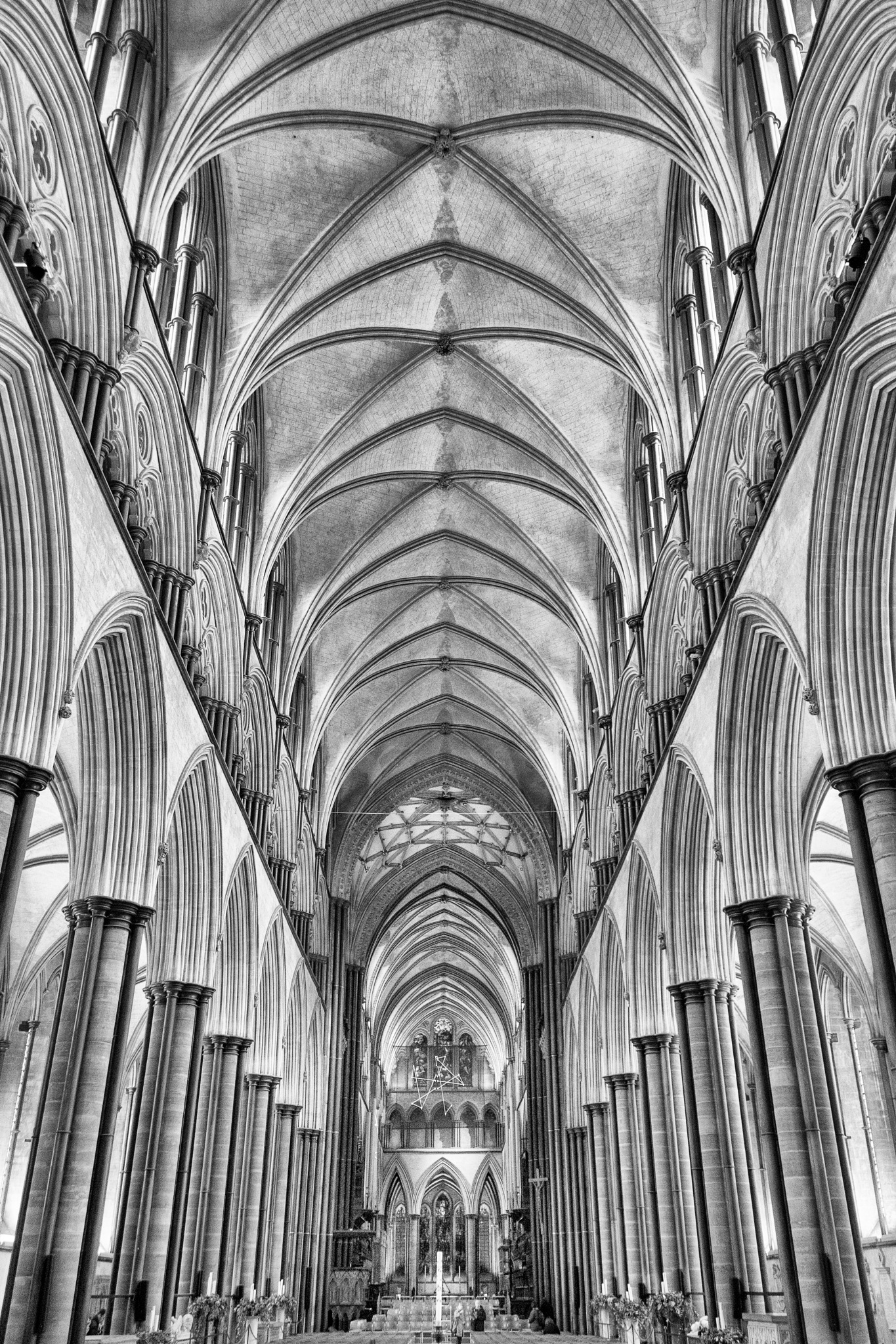 Salisbury Cathedral by Ian M