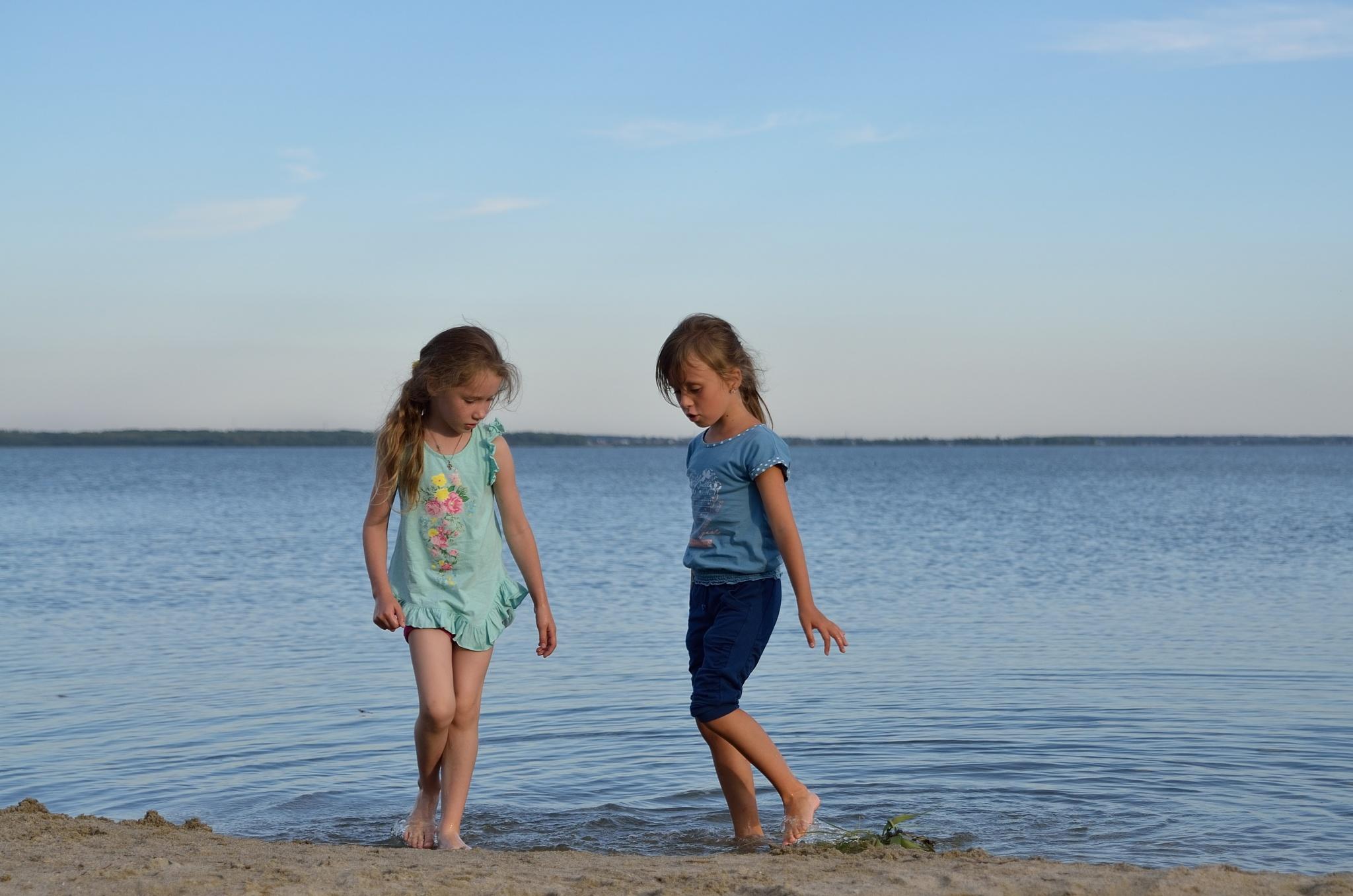 Летний вечер на озере Смолино by silvio55