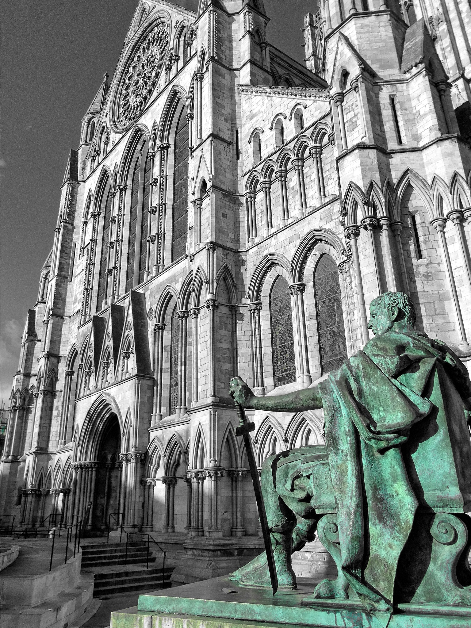 Constantine And The Minster by Jonathan Allison