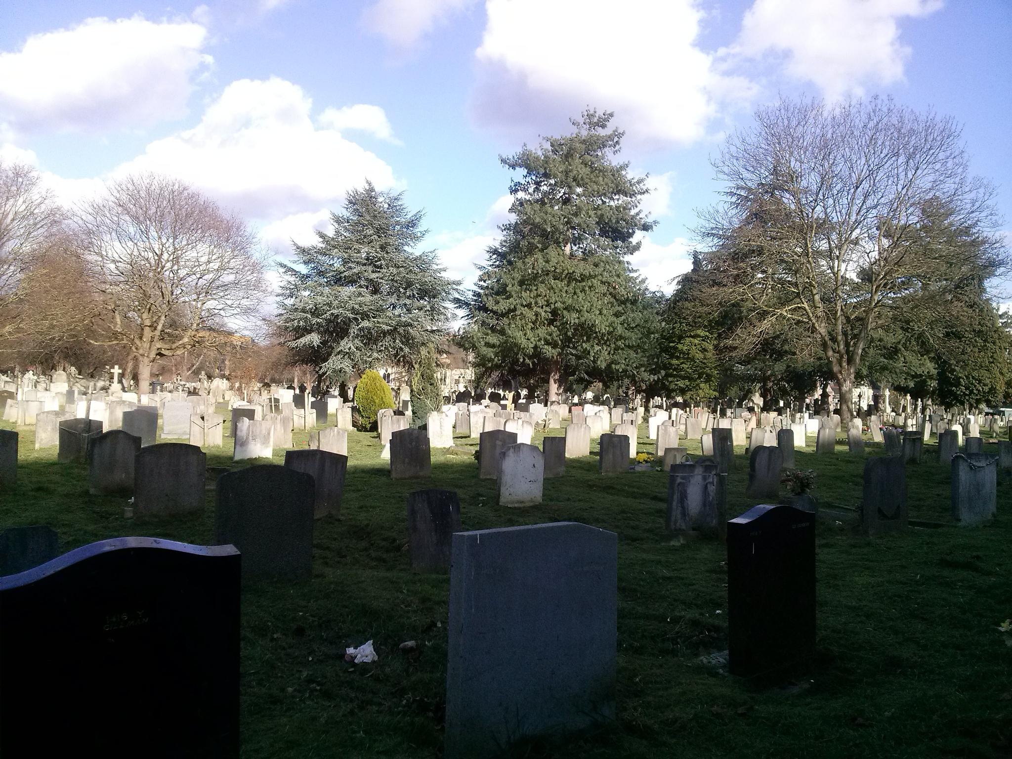 Mas Stratham Cementery by Melissa Revidiego Del Estal