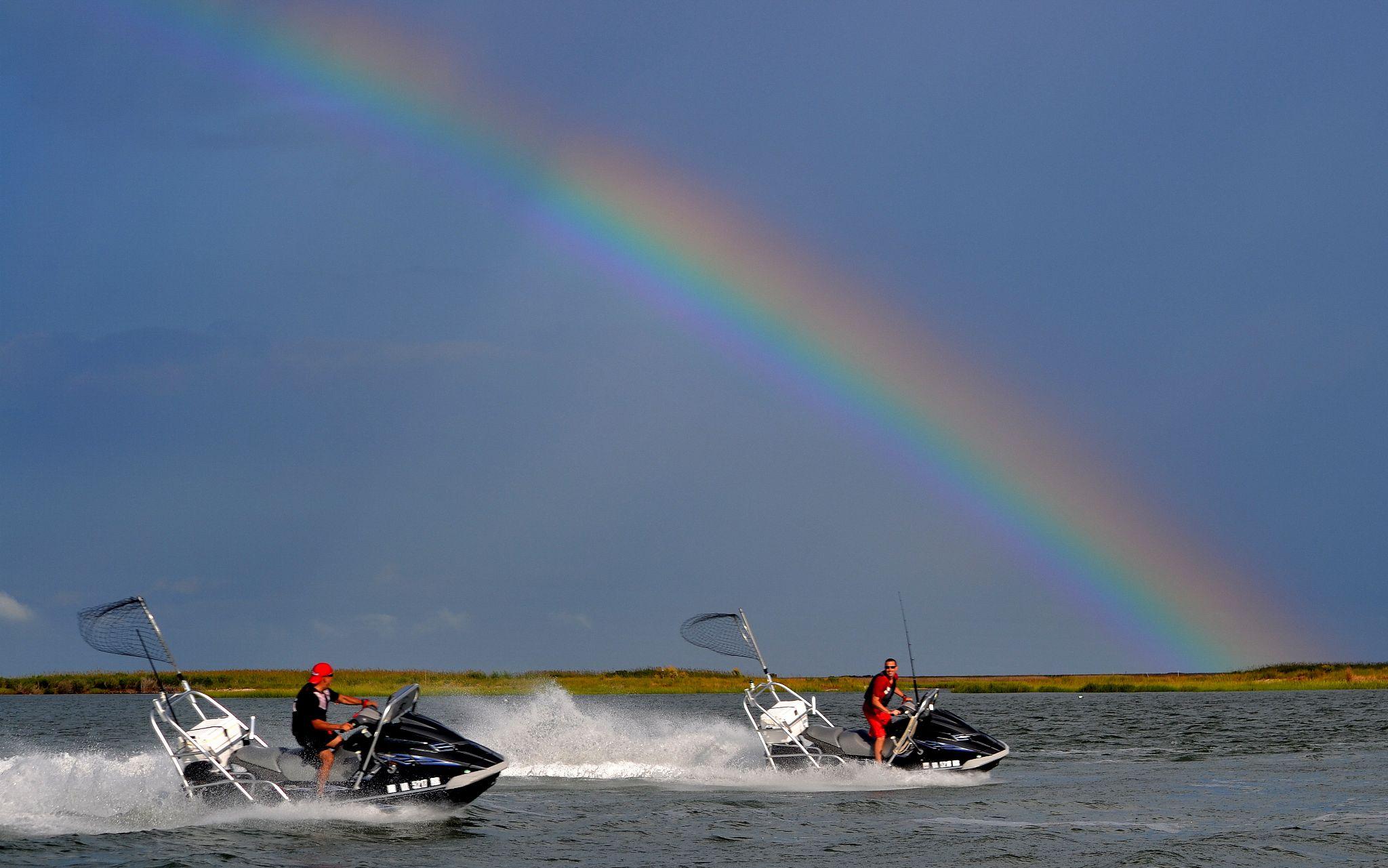 Jet Ski Rainbow by jetskibrian